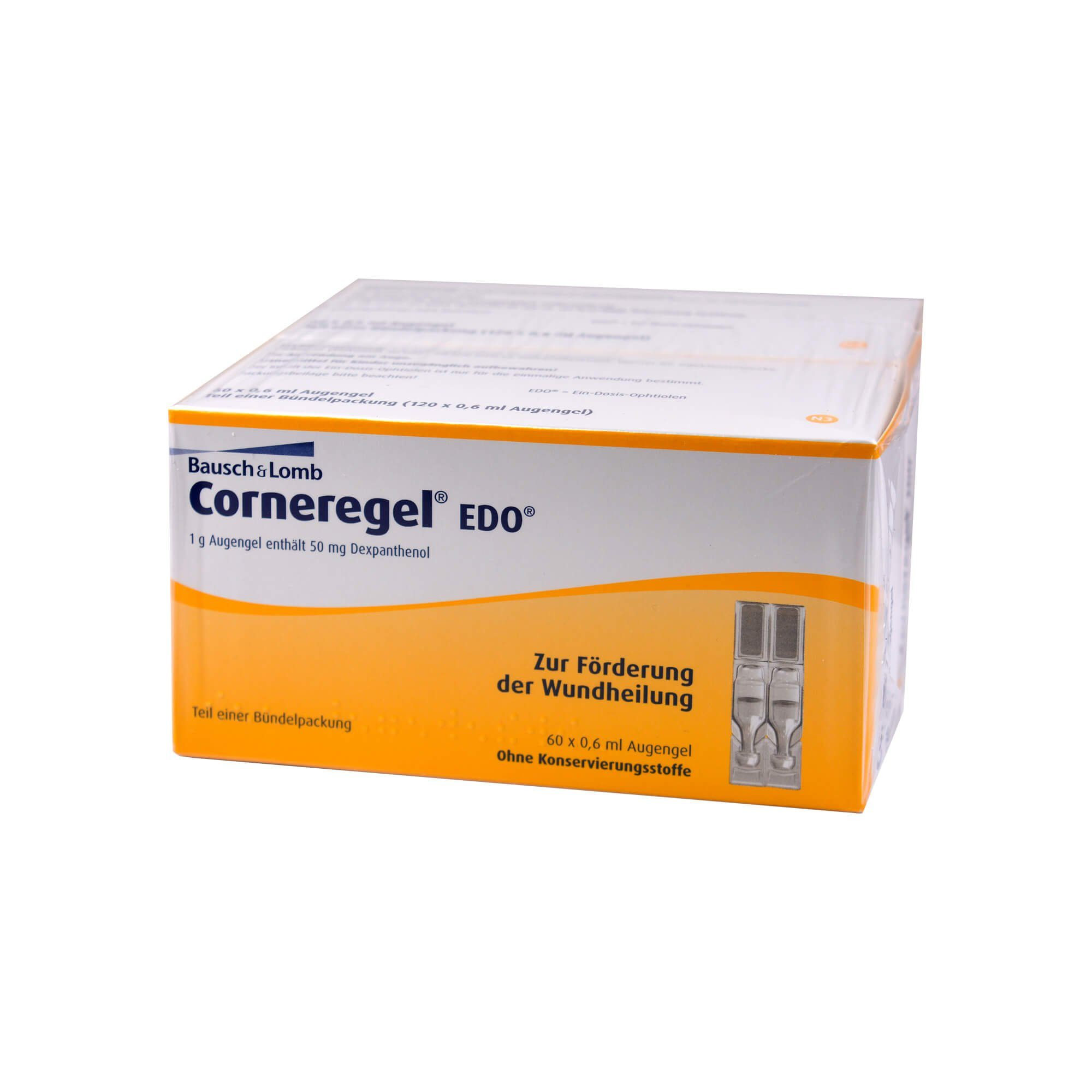 Corneregel EDO Augengel , 120X0.6 ml