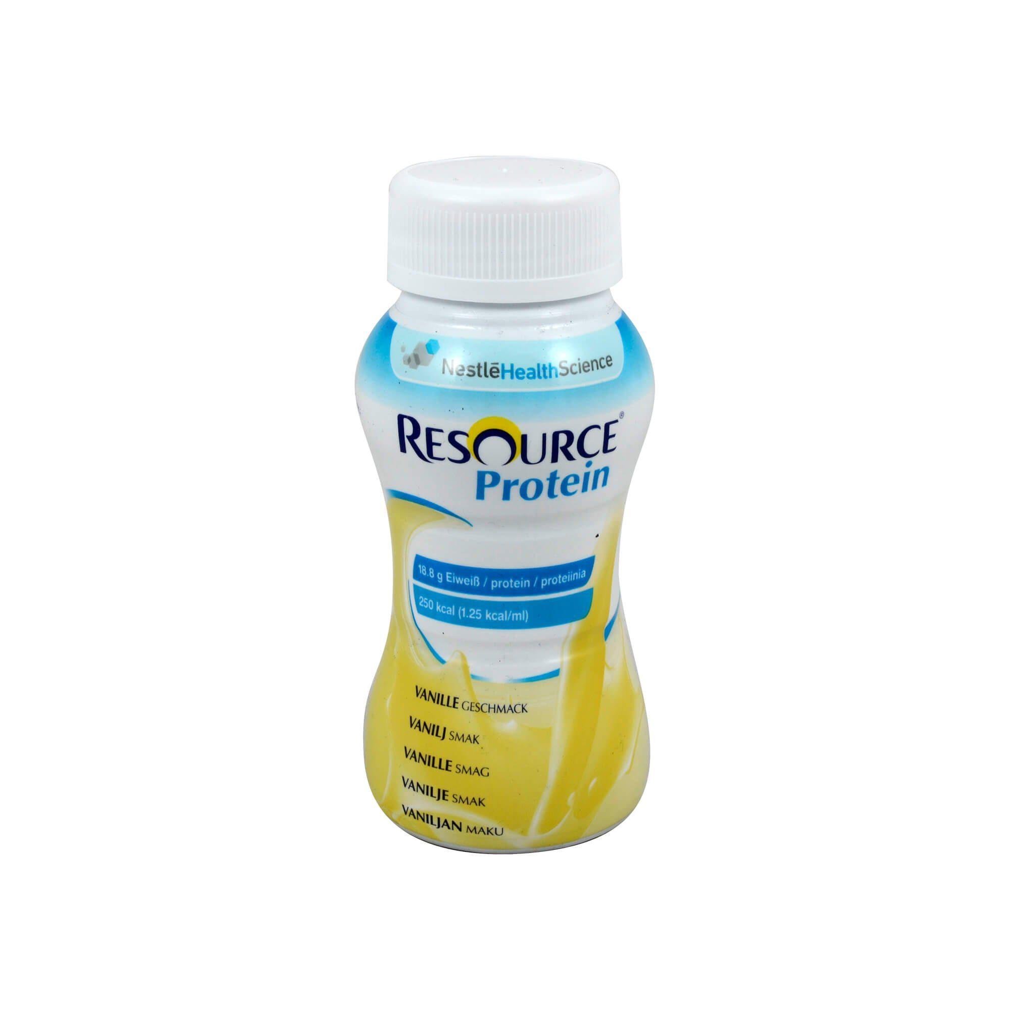 Resource Protein Drink Vanille , 4X200 ml