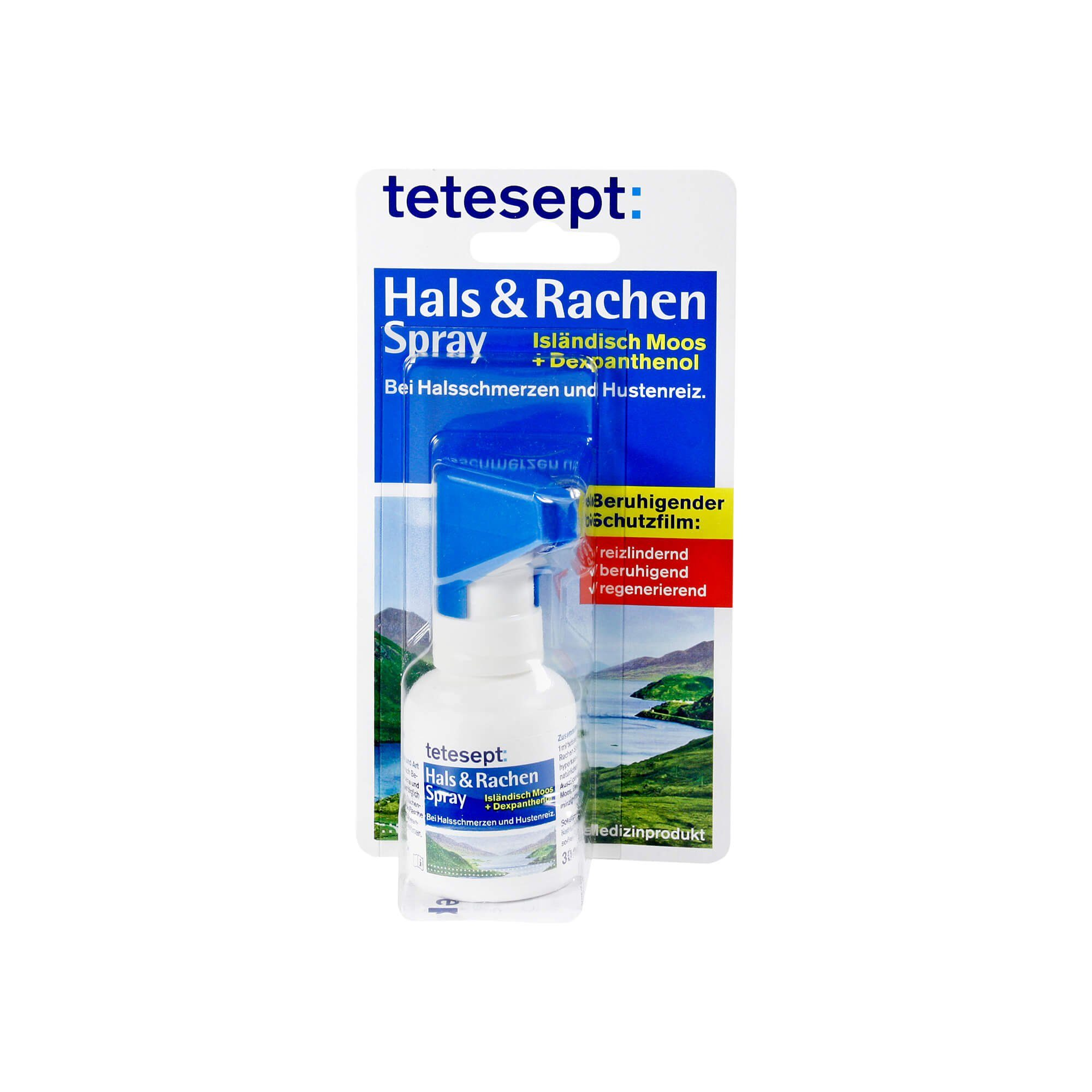 Tetesept Hals + Rachen Spray, 30 ml