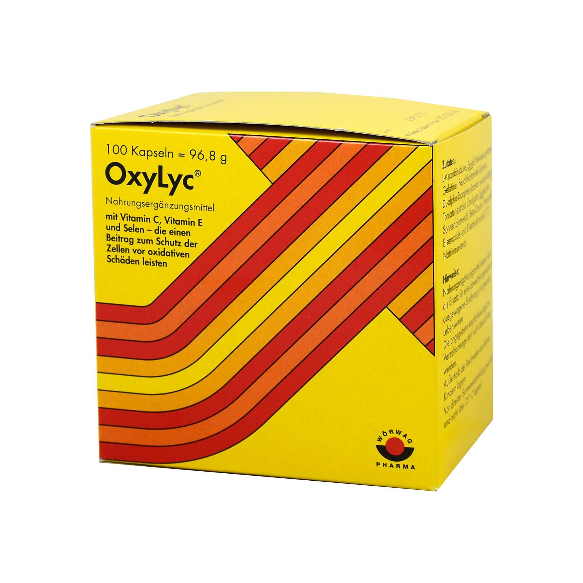 OxyLyc Kapseln , 100 St