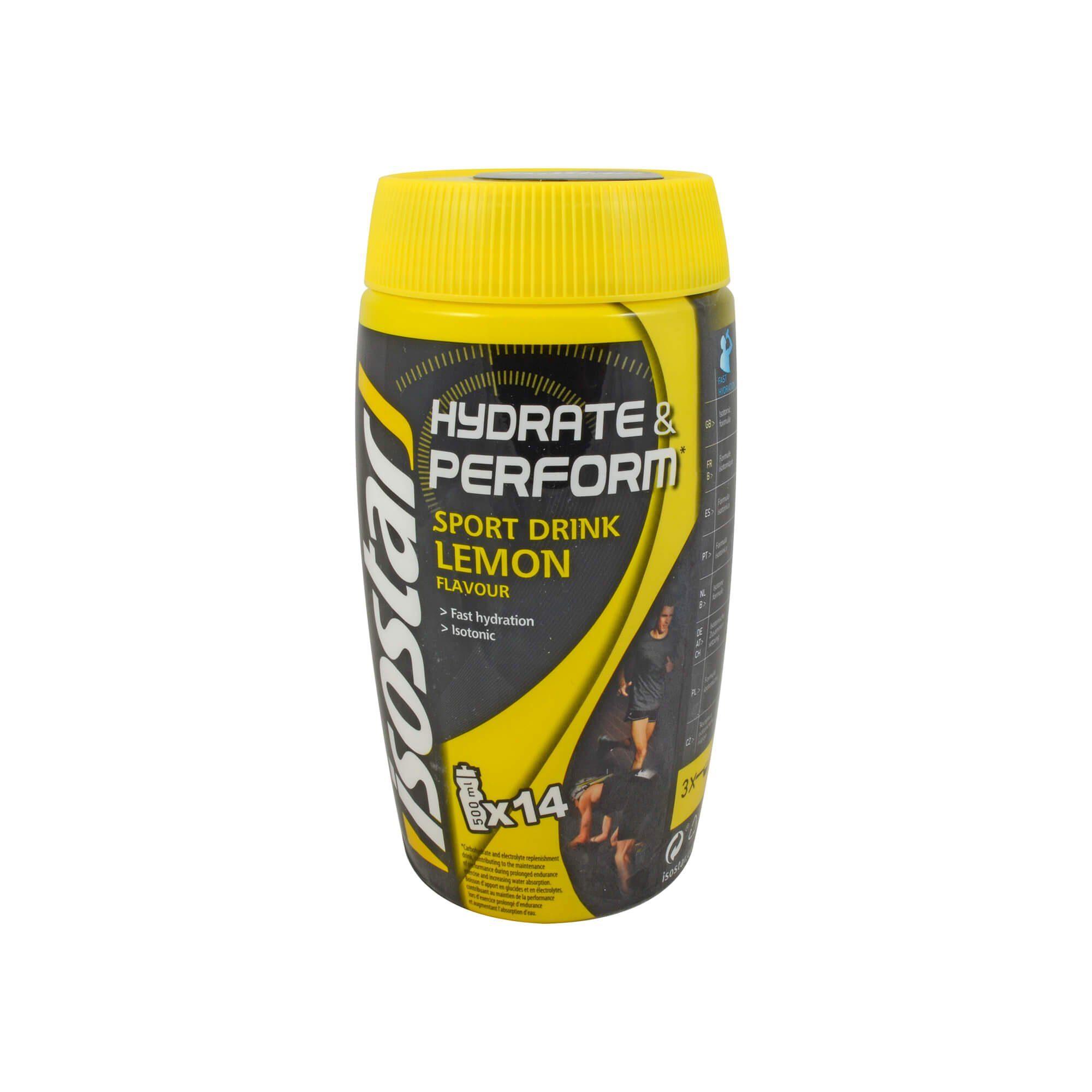 Isostar Hydrate & Perform Pulver Zitrone , 560 g