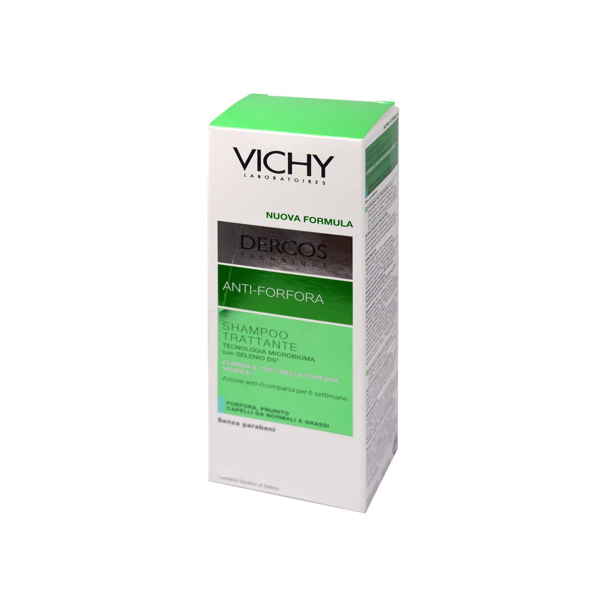 Vichy Dercos Anti-Schuppen-Pflegeshampoo für fettiges Haar, 390 ml