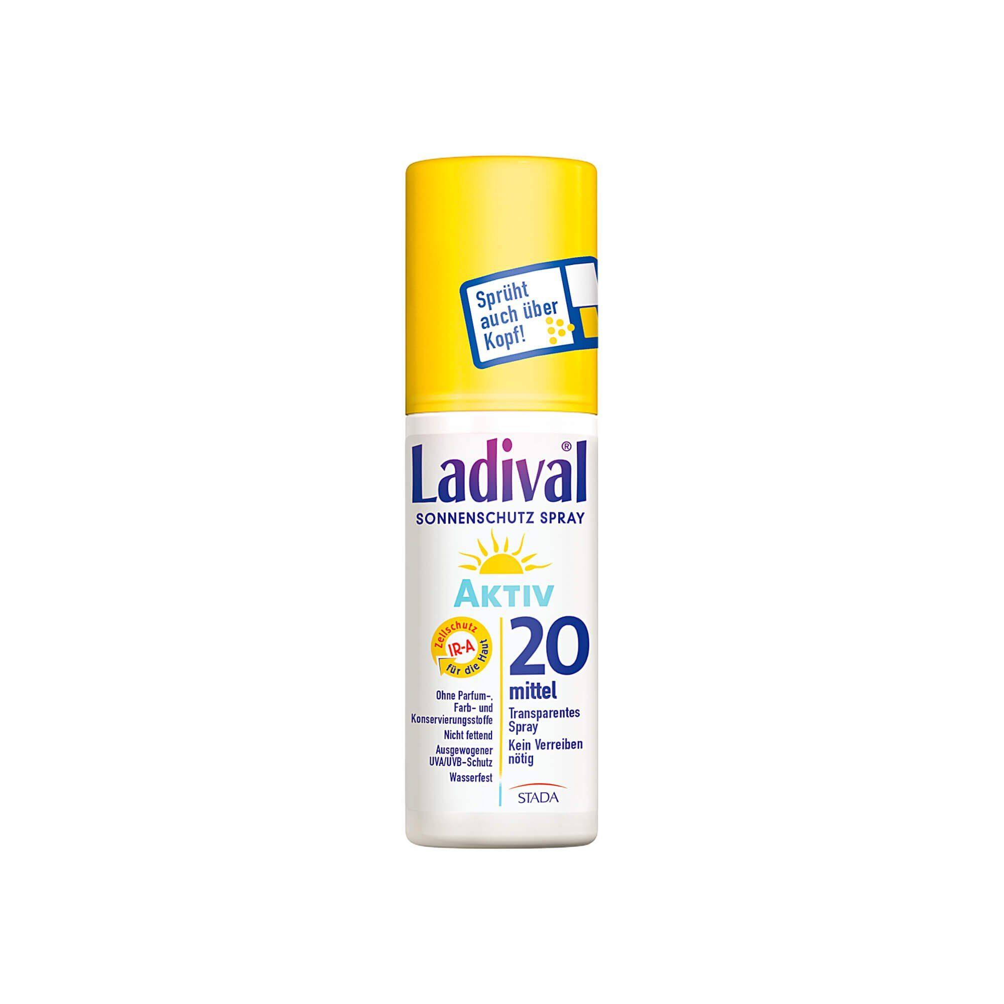 Ladival Sonnenschutzspray LSF 20 , 150 ml