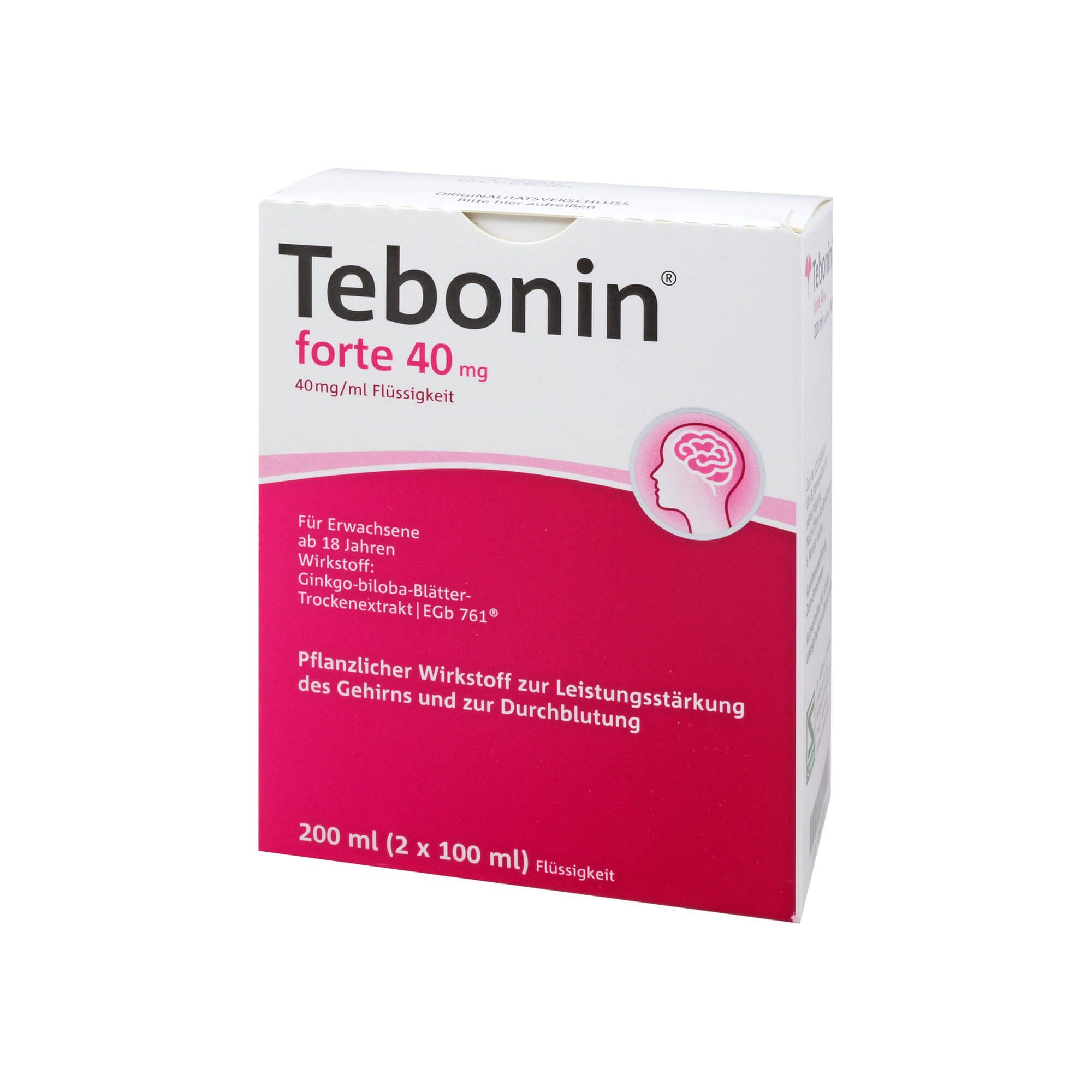 Tebonin forte 40 mg Lösung, 2X100 ml