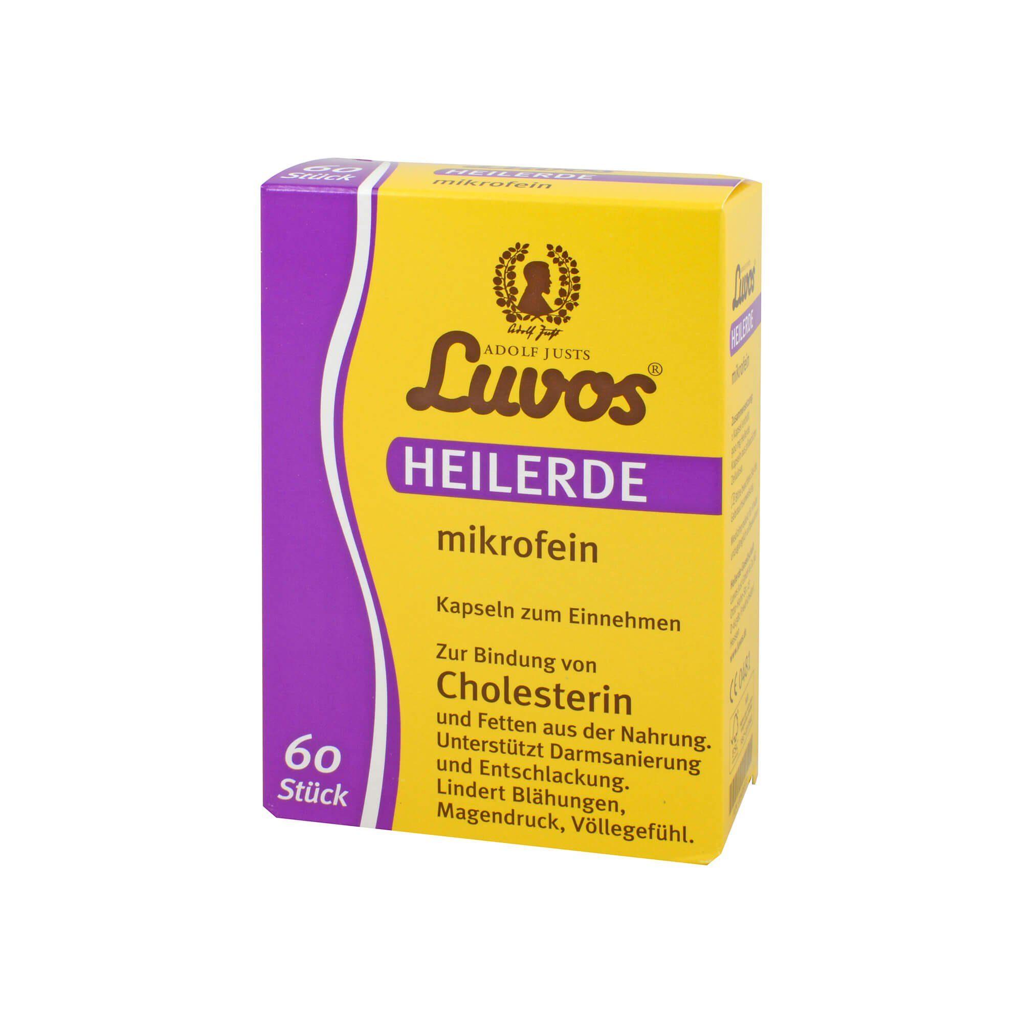 Luvos Heilerde mikrofein Kapseln, 60 St