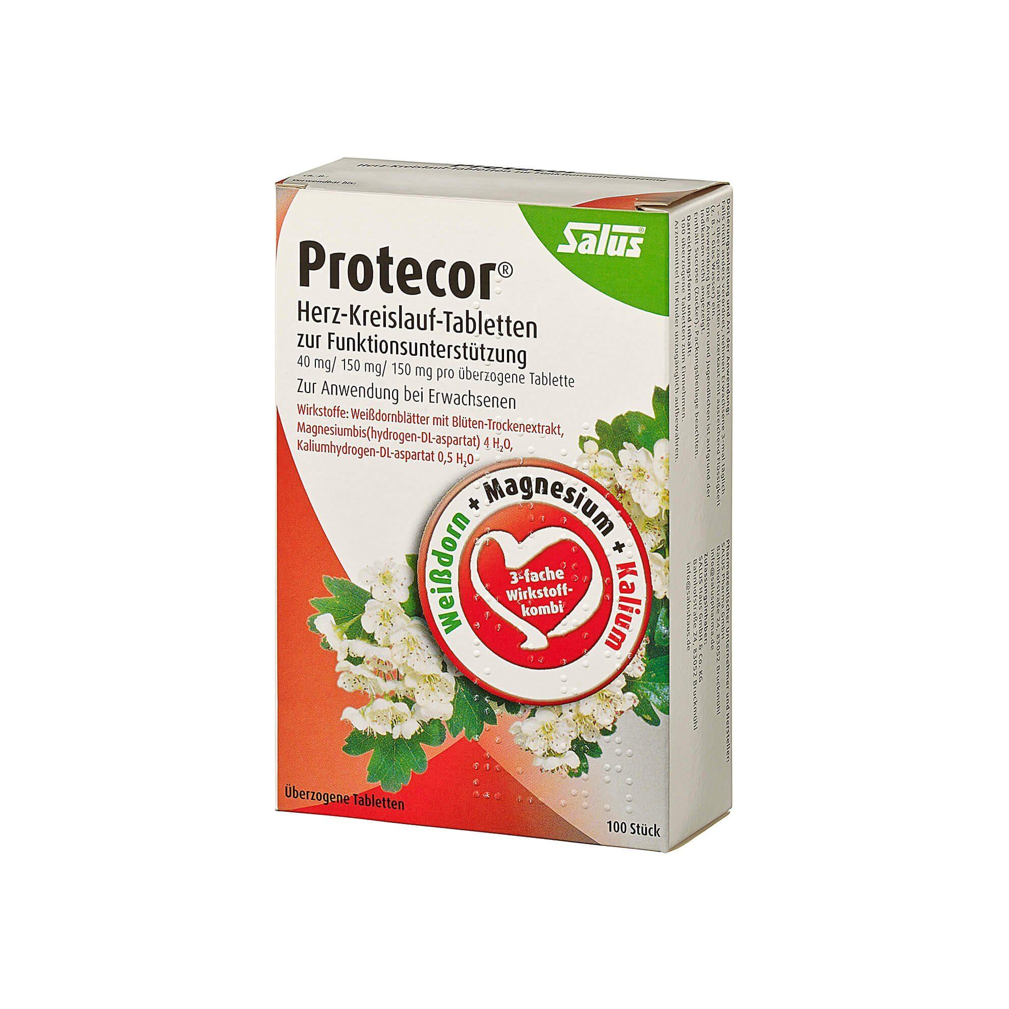 Protecor Herz-Kreislauf-Funktionsunterstützung, 100 St