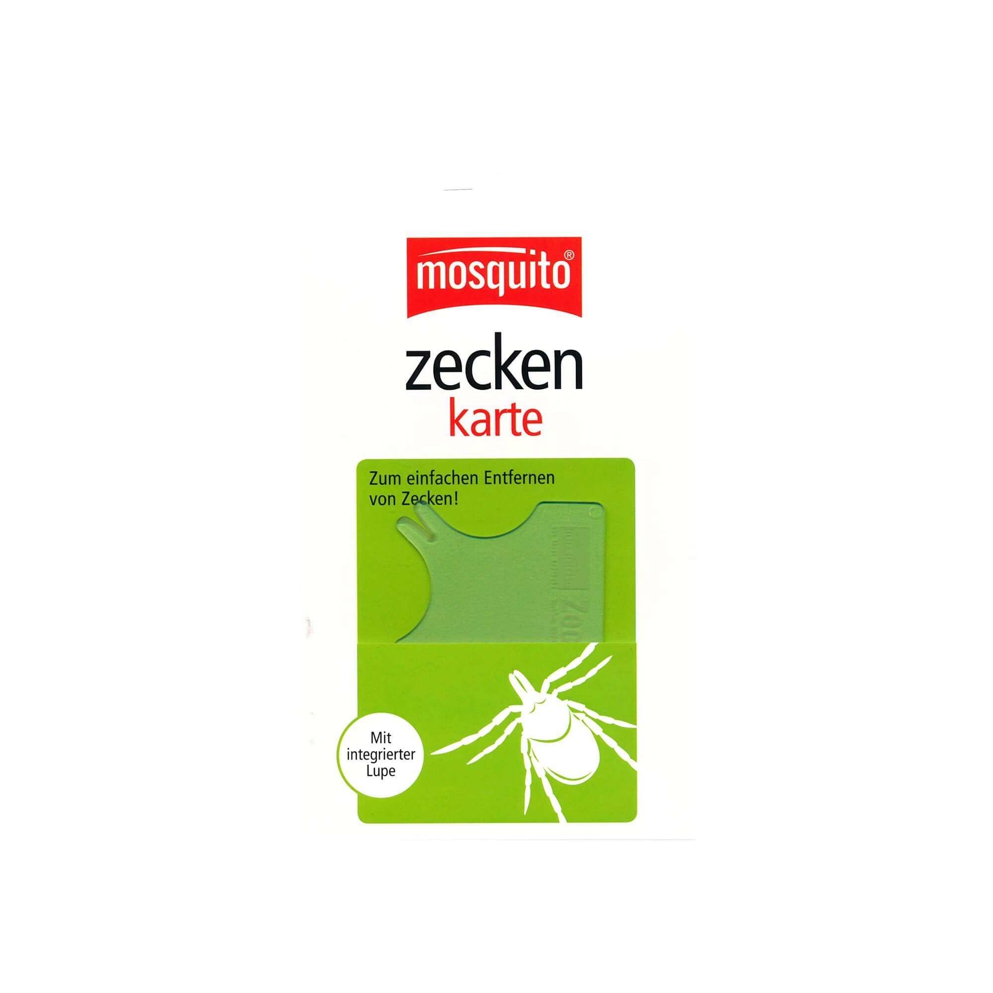 Mosquito Zeckenkarte , 1 St