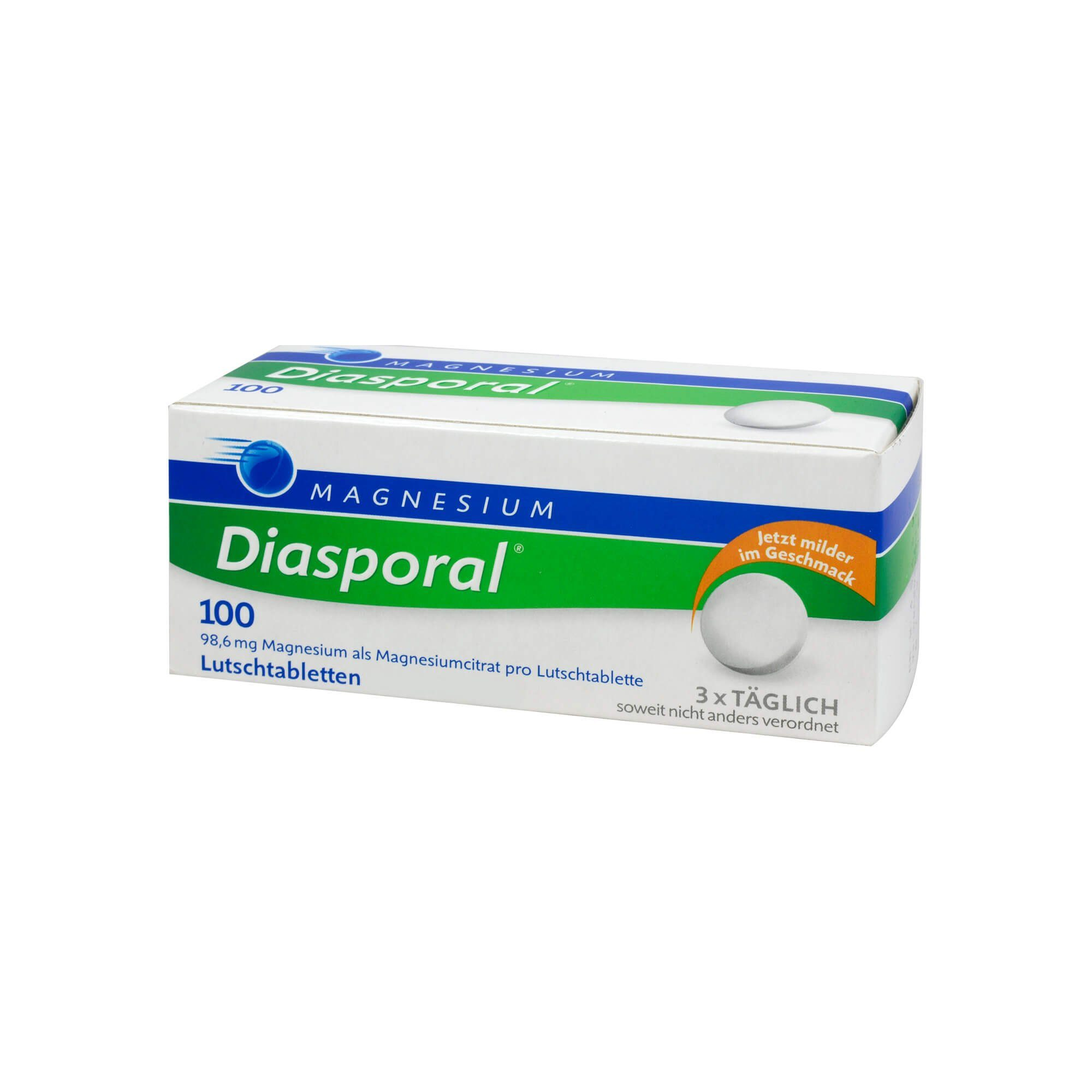 Diasporal Magnesium DIASPORAL 100 Lutschtabletten , 100 St