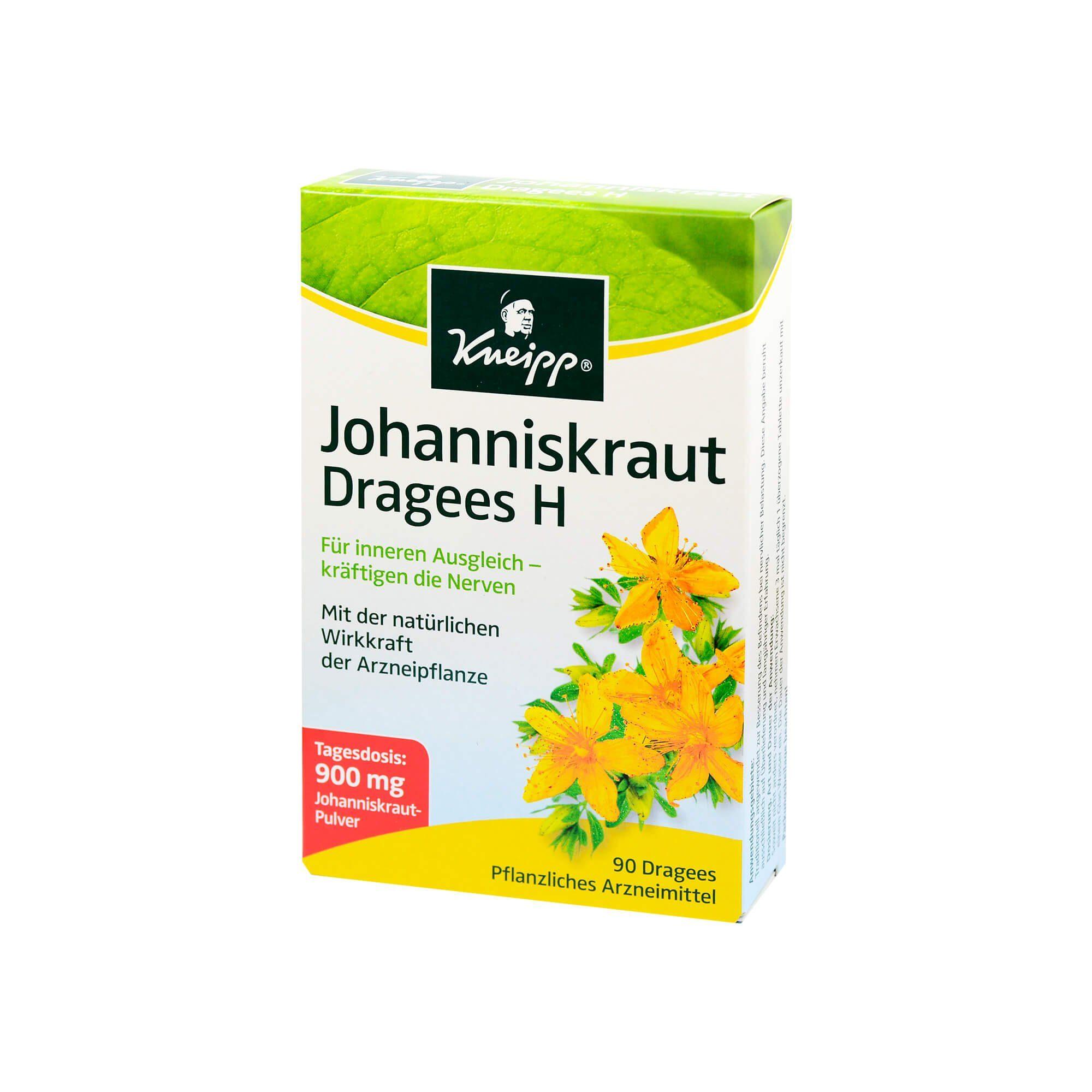 Kneipp Johanniskraut Dragees, 90 St