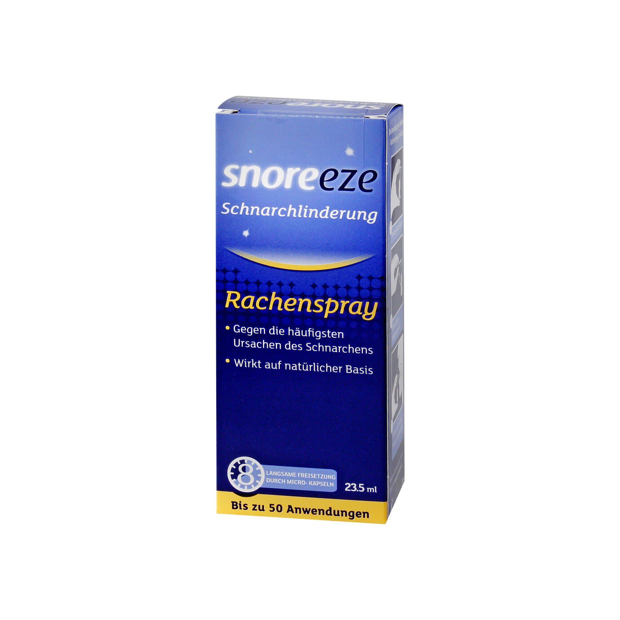SNOREEZE RACHENSPRAY, 23.5 ml