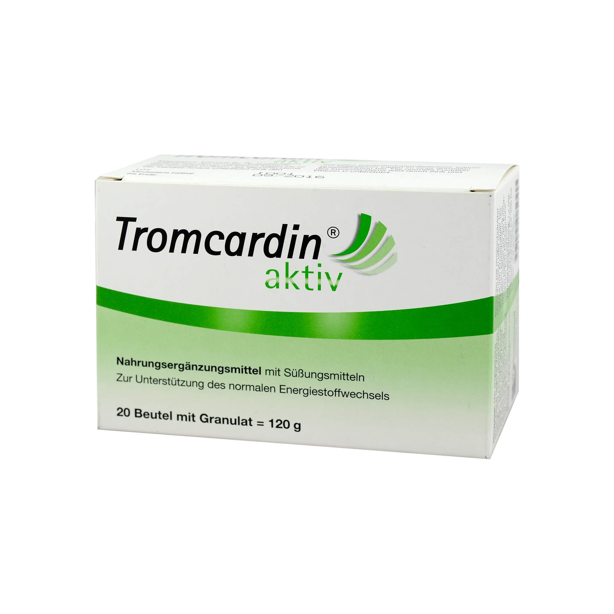 Tromcardin aktiv Granulat Beutel , 20 St