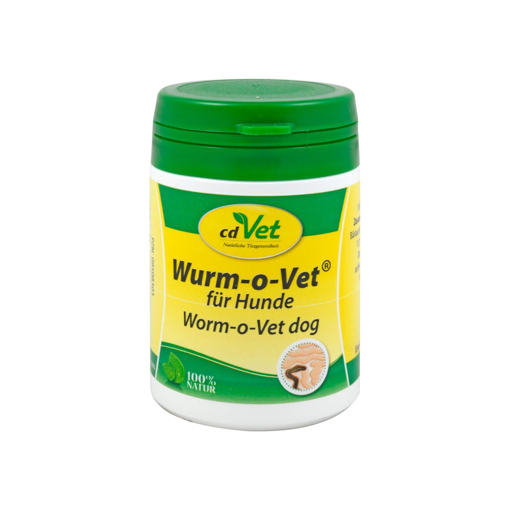 Wurm-o-Vet für Hunde , 25 g