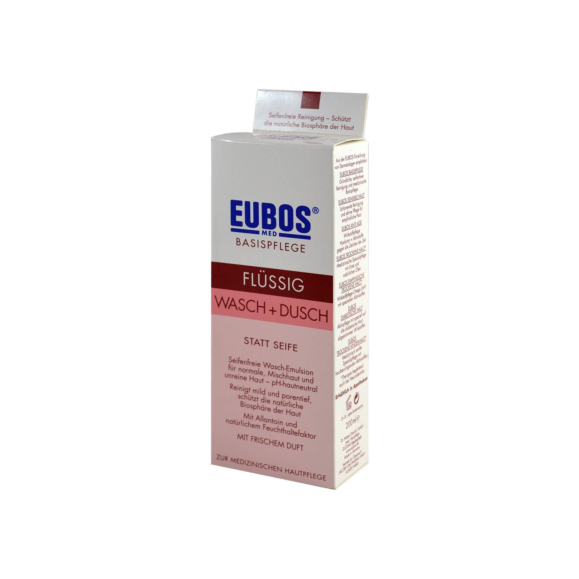 Eubos Flüssig Wasch + Dusch rot (, 200 ml)