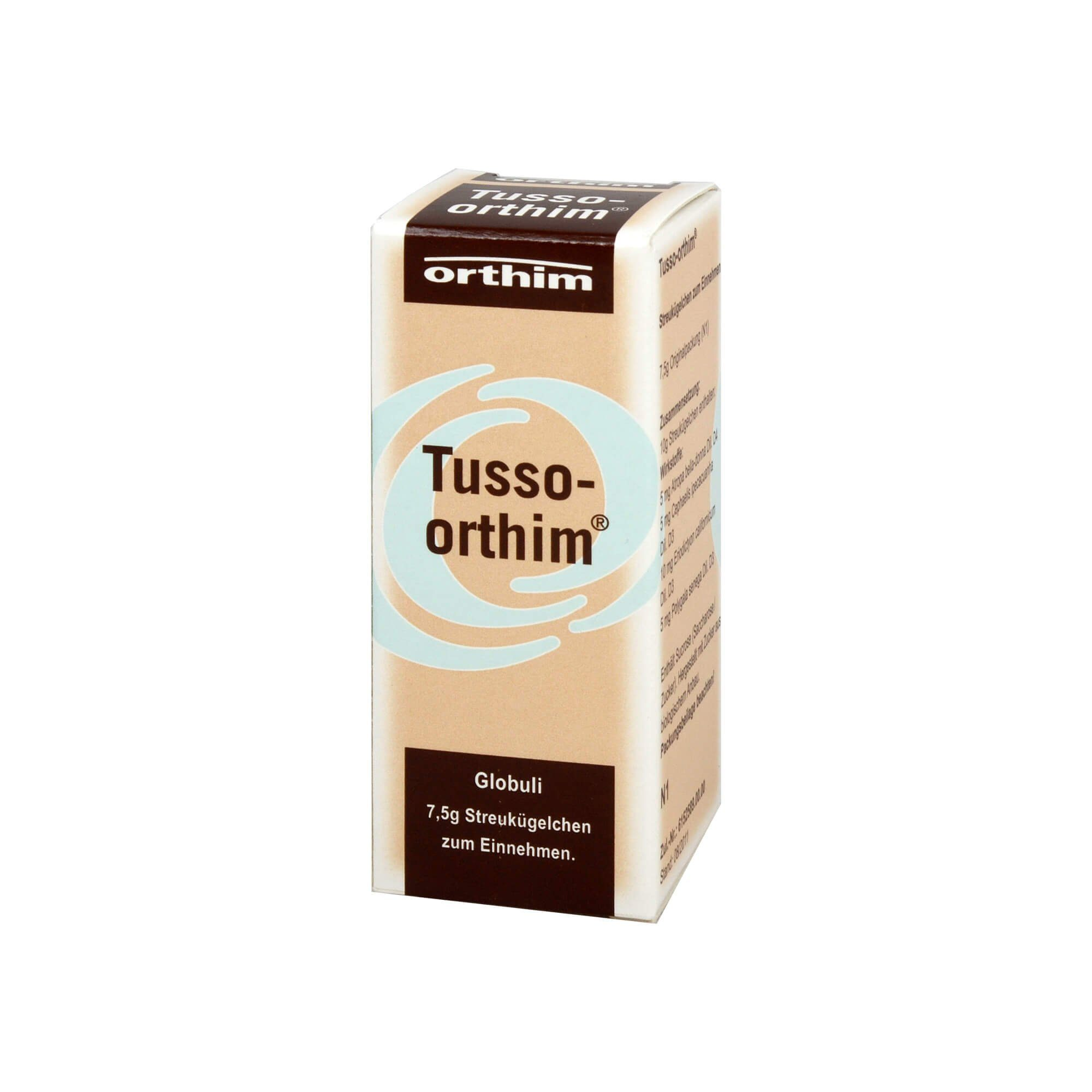 Tusso Orthim Globuli, 7.5 g