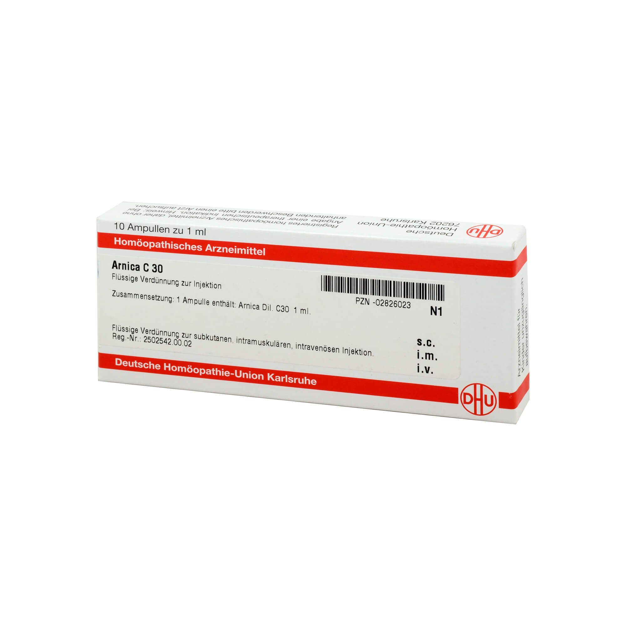 Arnica C 30 Ampullen , 10X1 ml