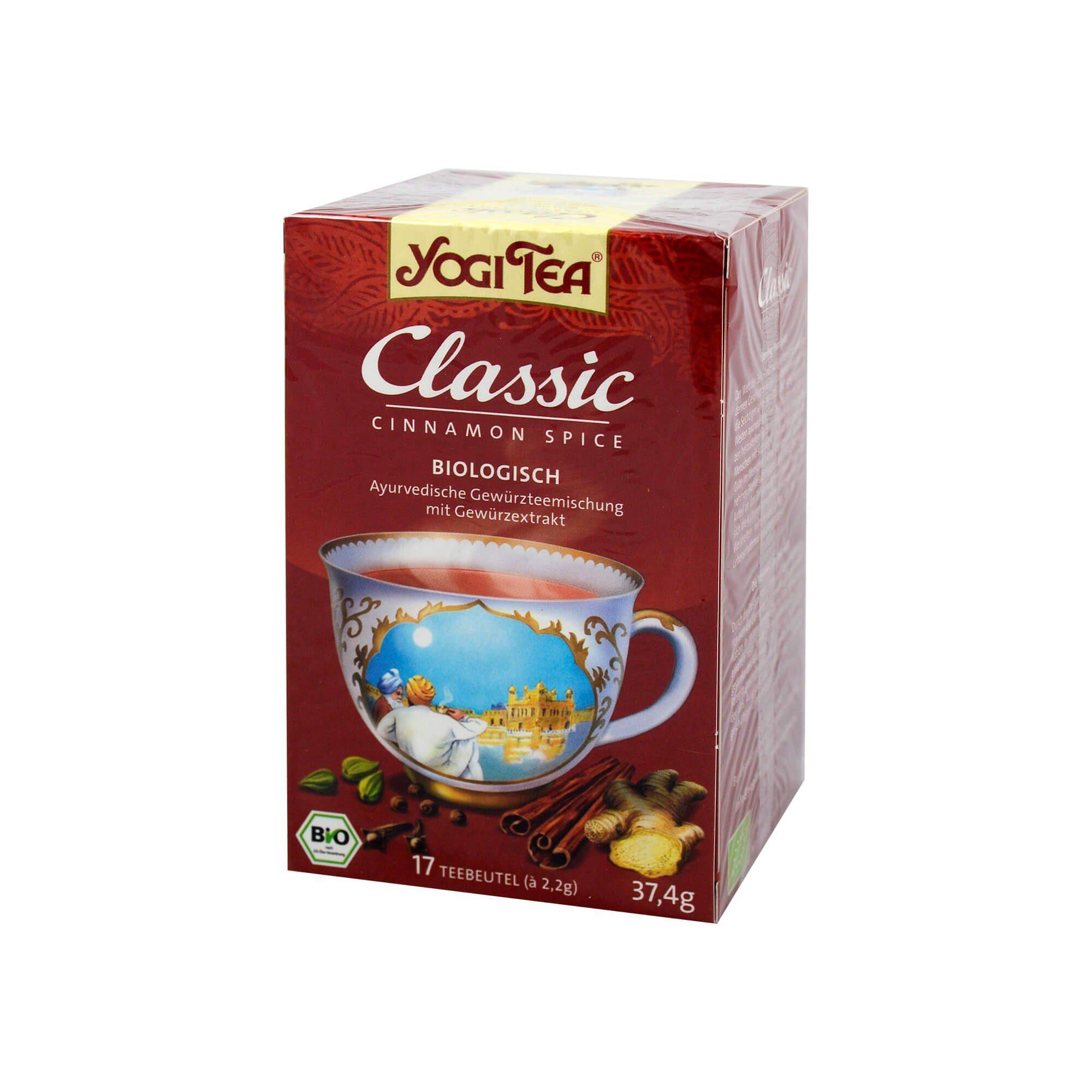 Yogi TEA Classic Bio, 17X2.2 g
