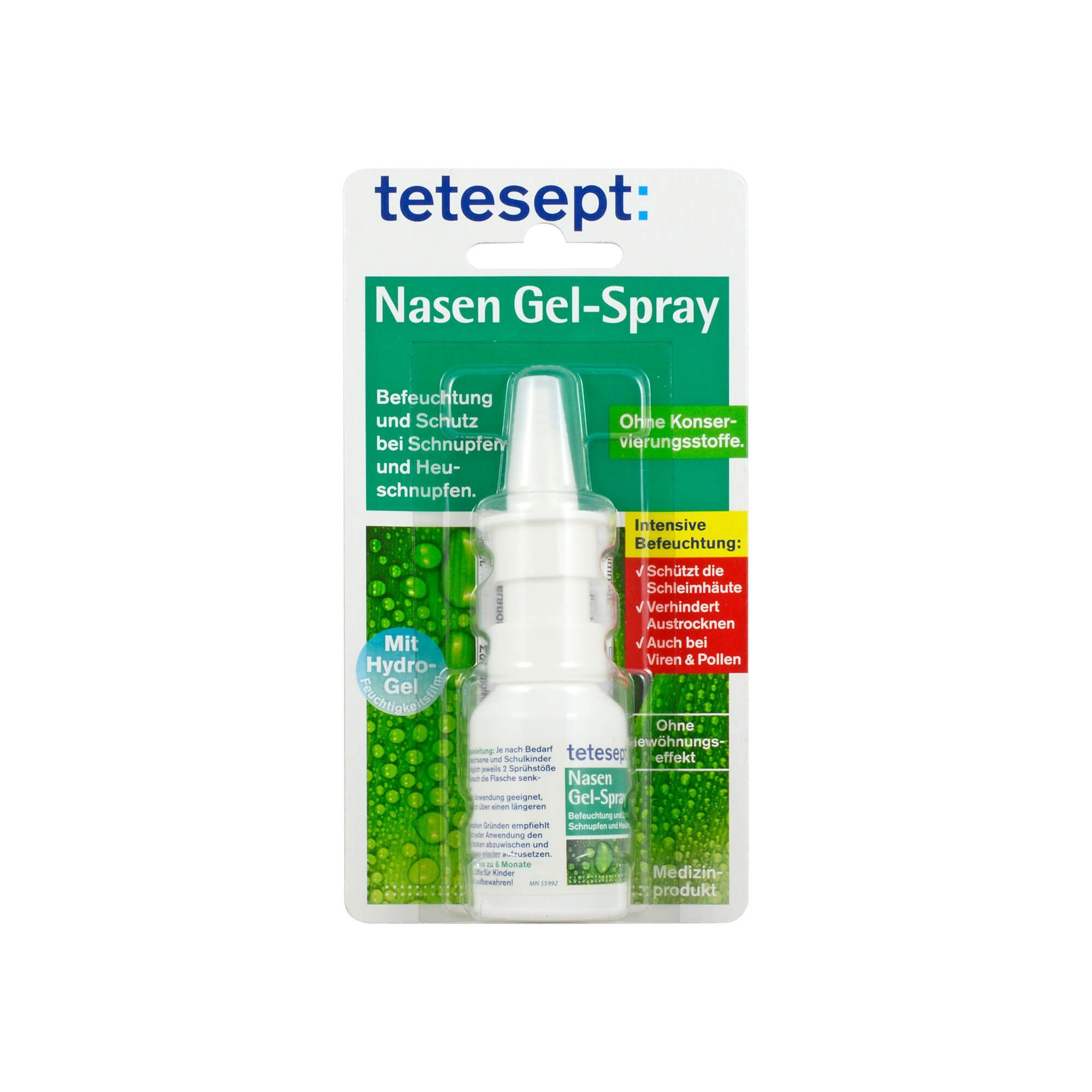 Tetesept Nasen Gel-Spray, 20 ml