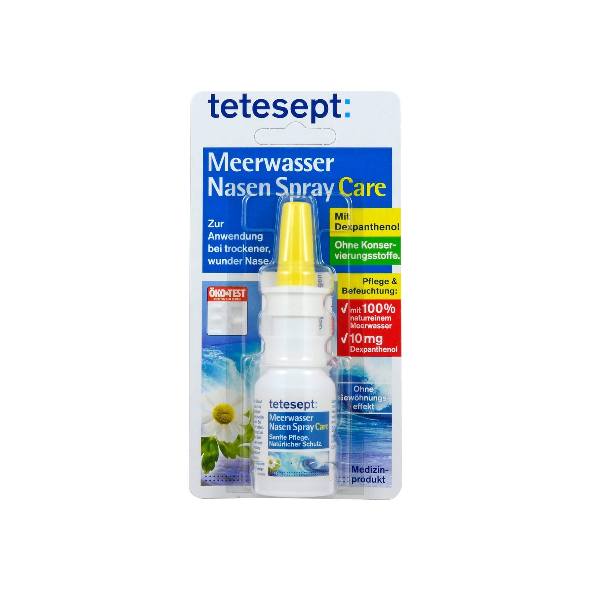 Tetesept Meerwasser Care Nasenspray , 20 ml