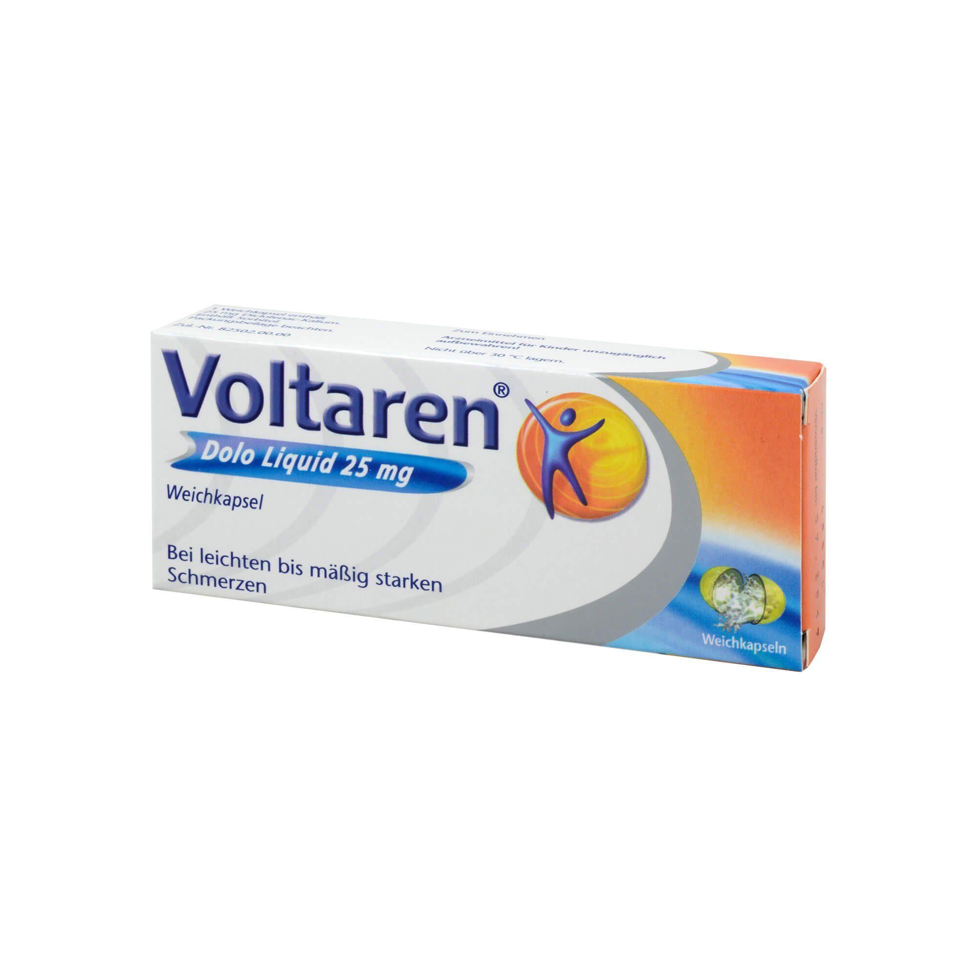 Voltaren Dolo Liquid 25 mg (, 20 St)