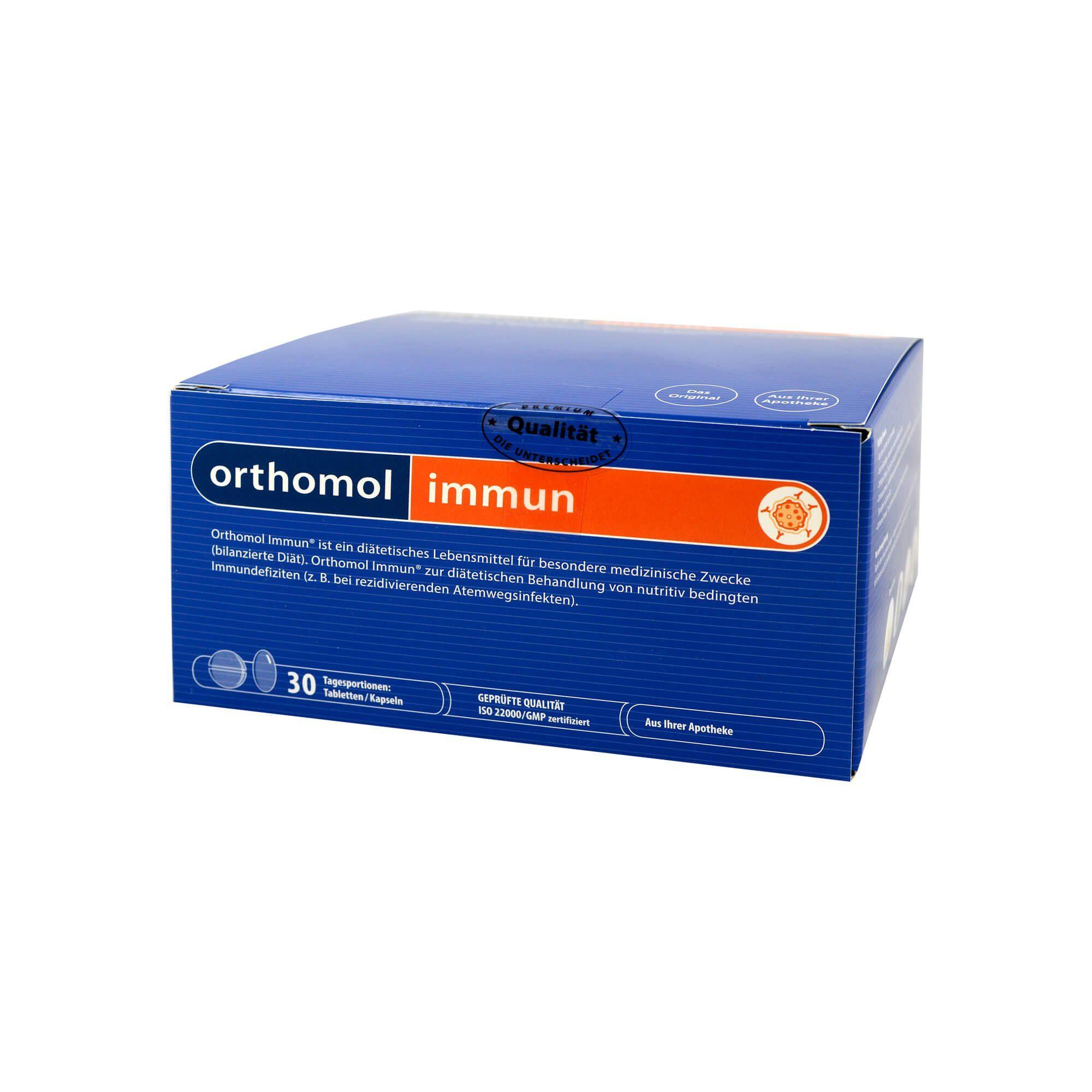 Orthomol Immun 30 Tabletten/Kapseln Kombipackung, 1 St