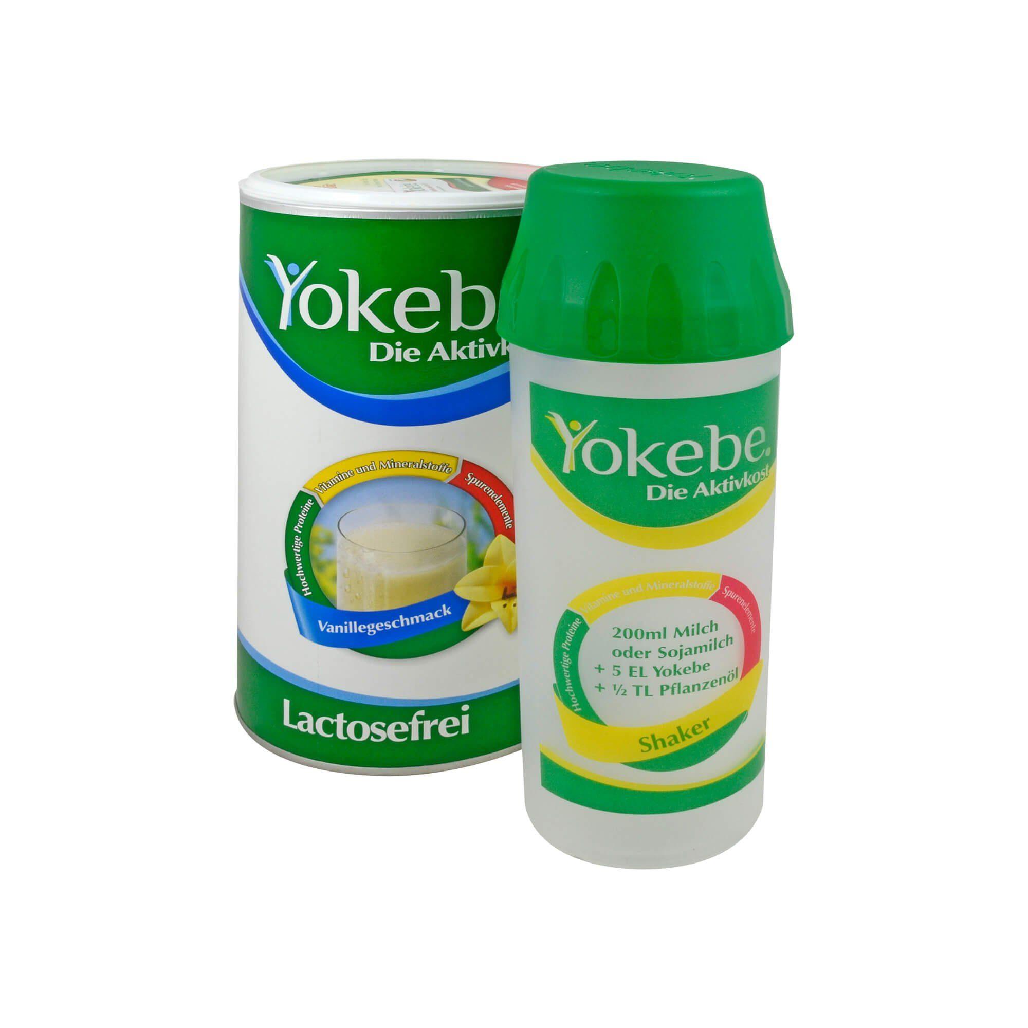 Yokebe Lactosefrei Vanille Starterpaket, 500 g