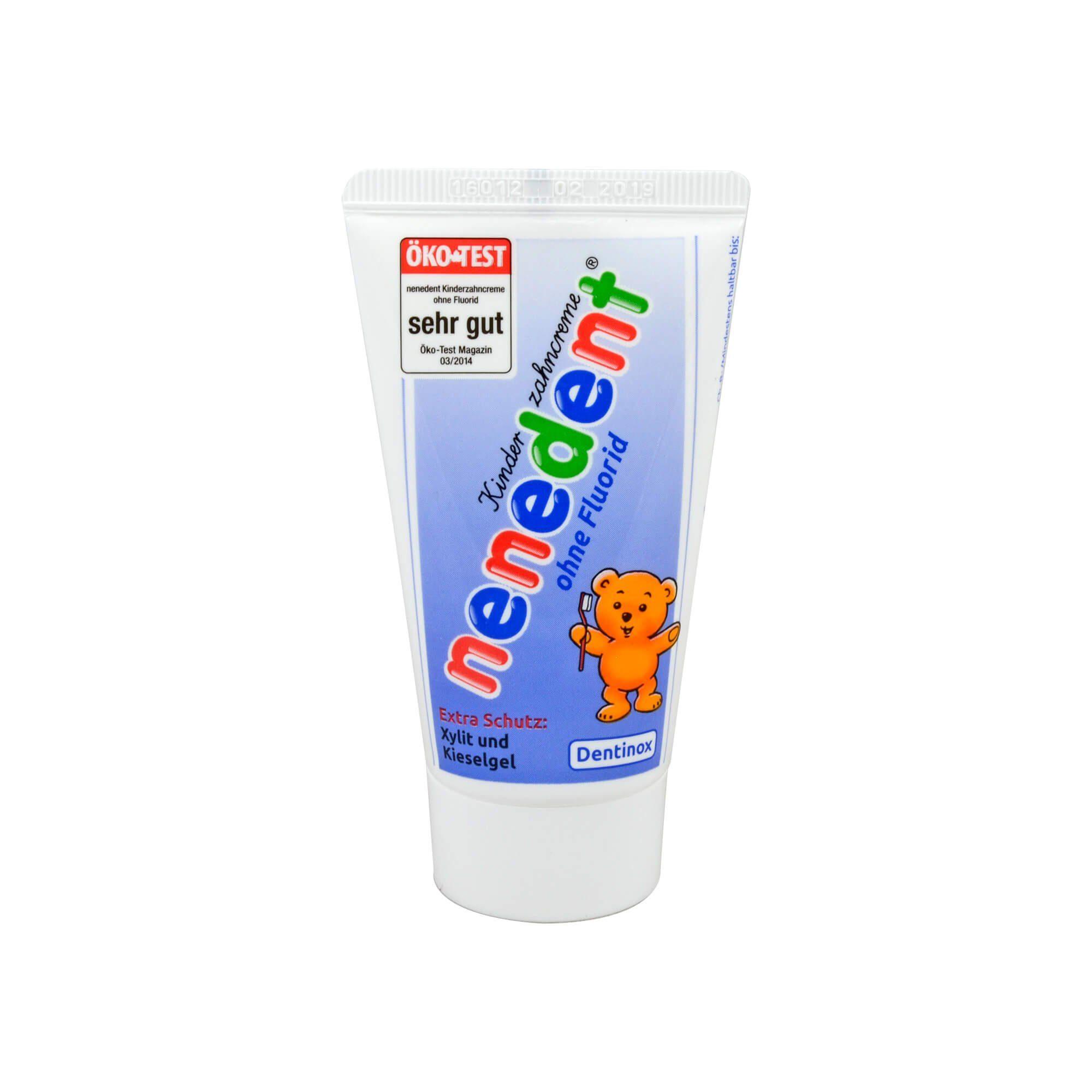 Nenedent Kinderzahncreme ohne Fluorid , 50 ml