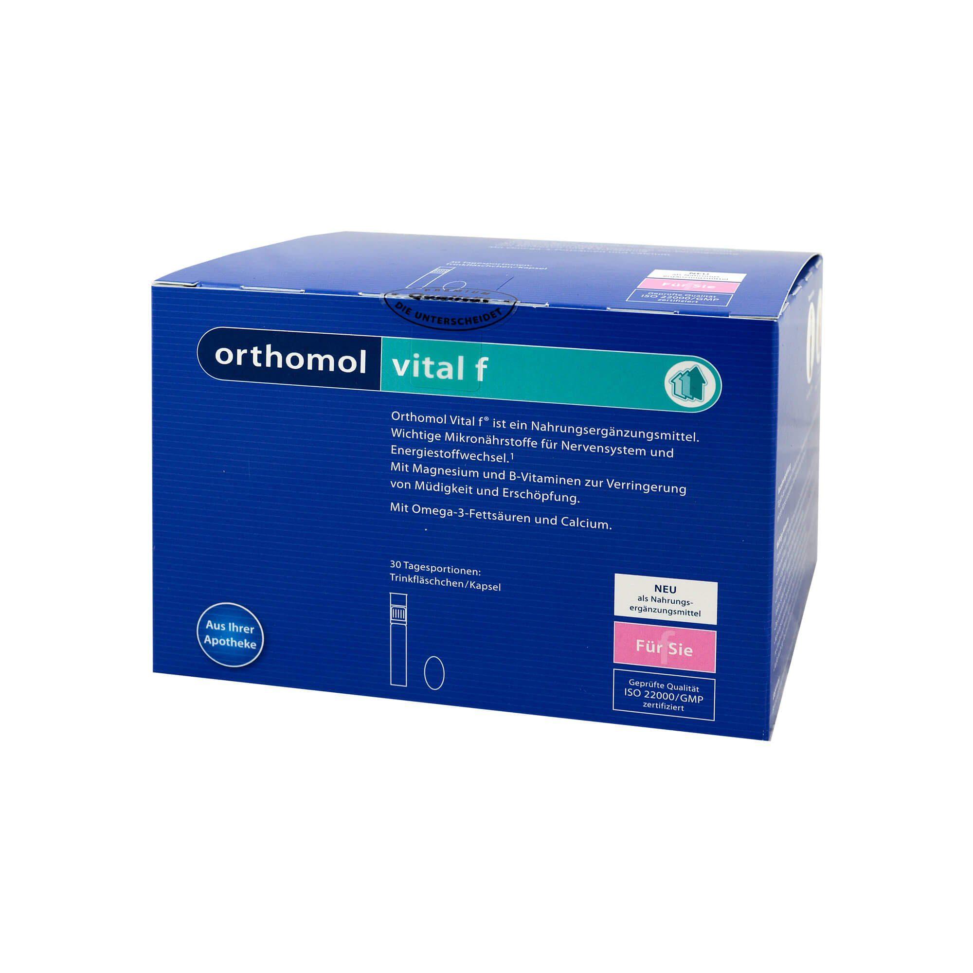 Orthomol Vital F Trinkfläschchen , 30 St