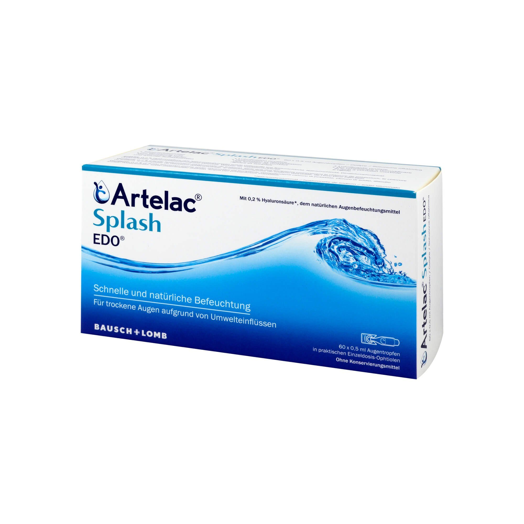 Artelac Splash EDO , 60X0.5 ml