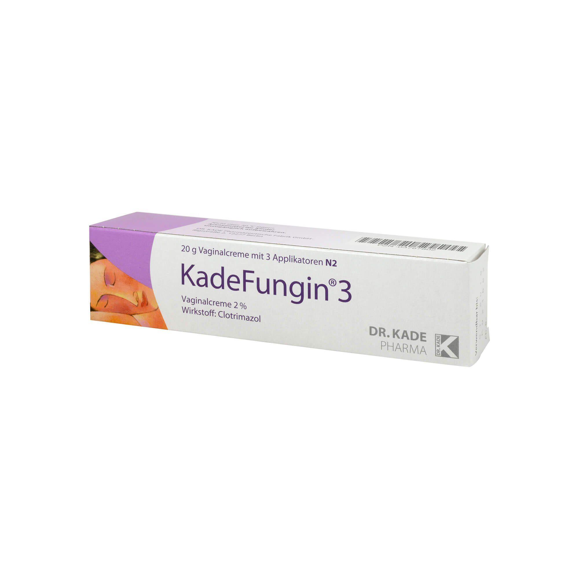 Kadefungin 3 Vaginalcreme, 20 g