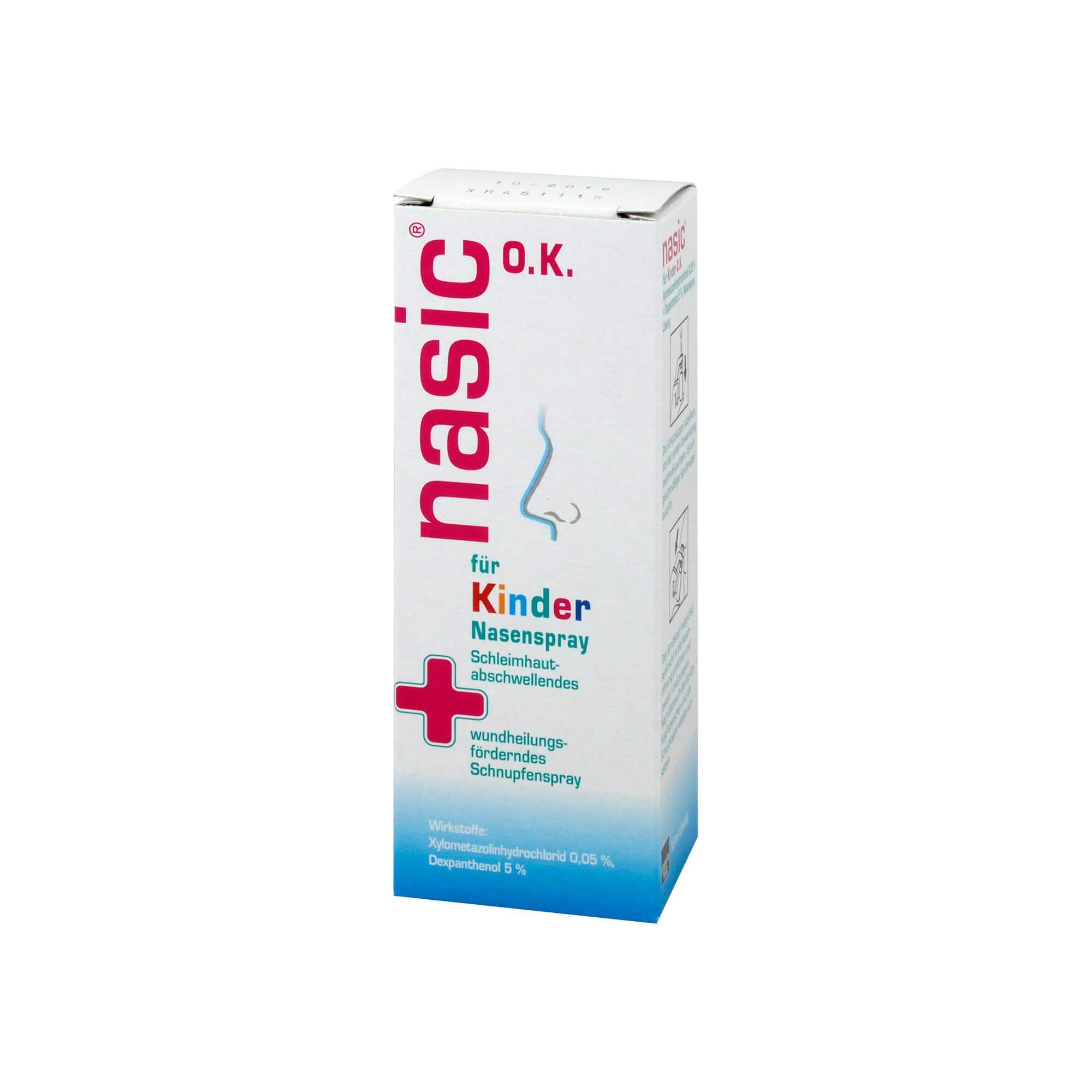 Nasic Nasenspray für Kinder ohne Konservierungsstoffe, 10 ml