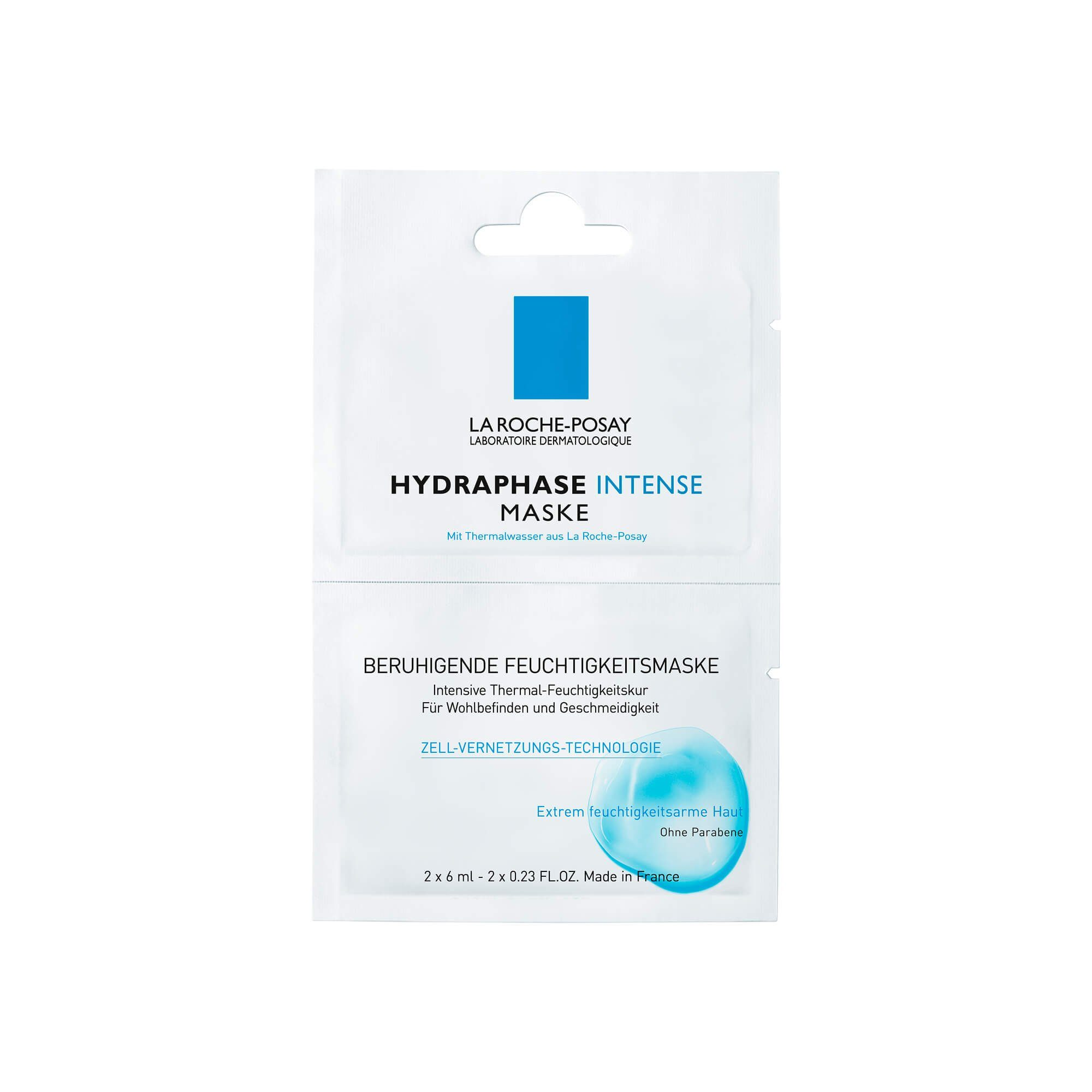 Roche Posay Hydraphase Maske, 2X6 ml