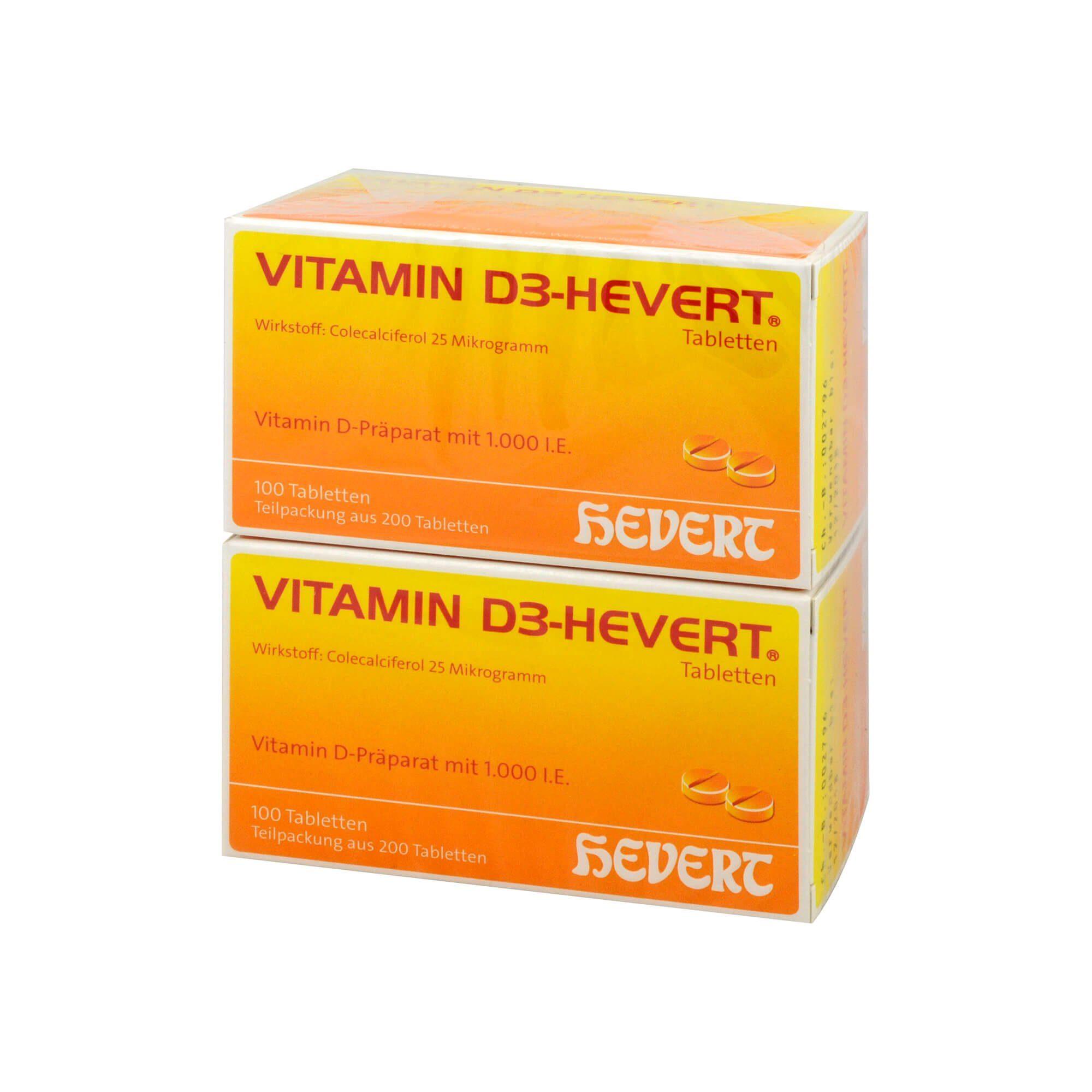 Vitamin D3-Hevert , 200 St