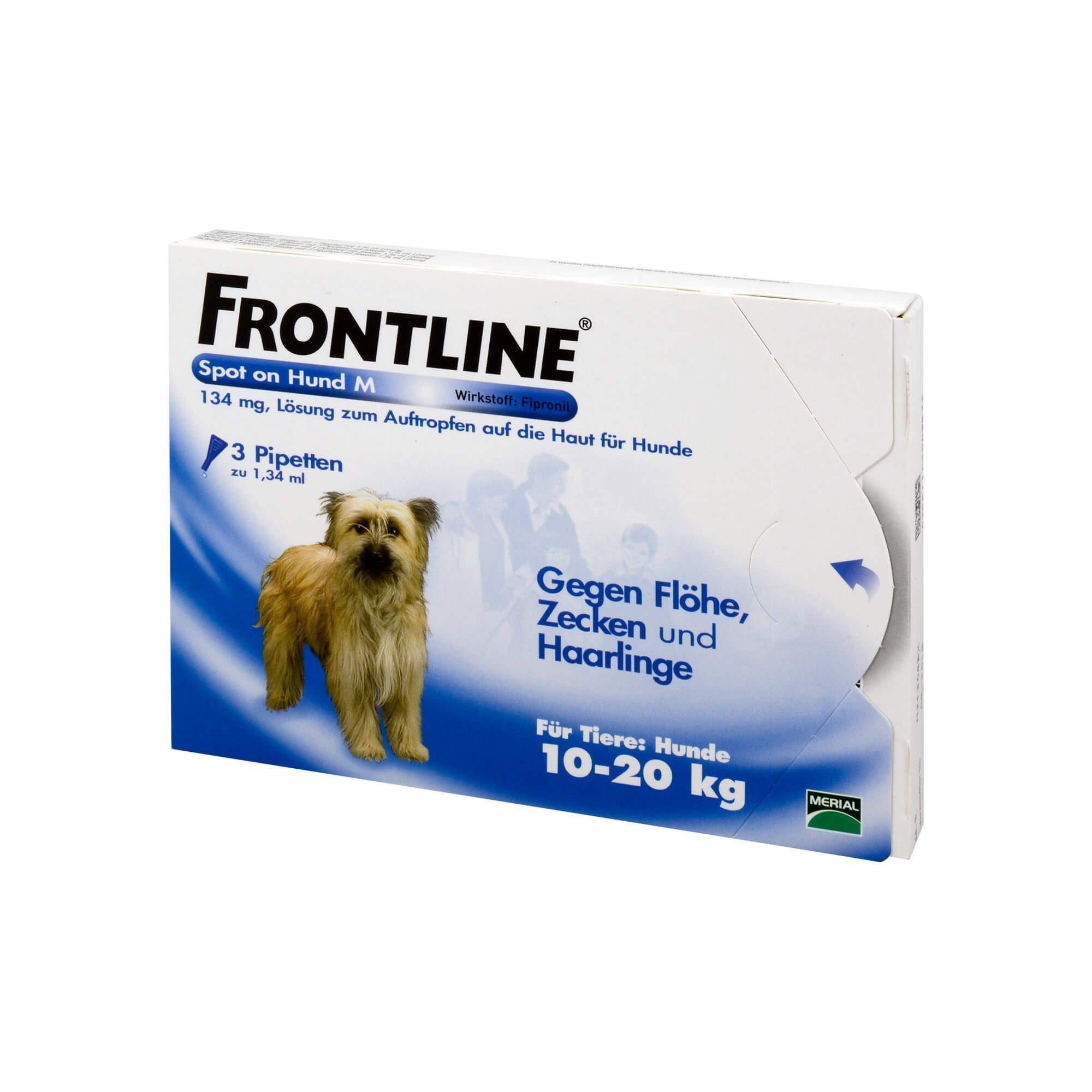 Frontline Frontline Spot on Hund M 134 mg , 3 St