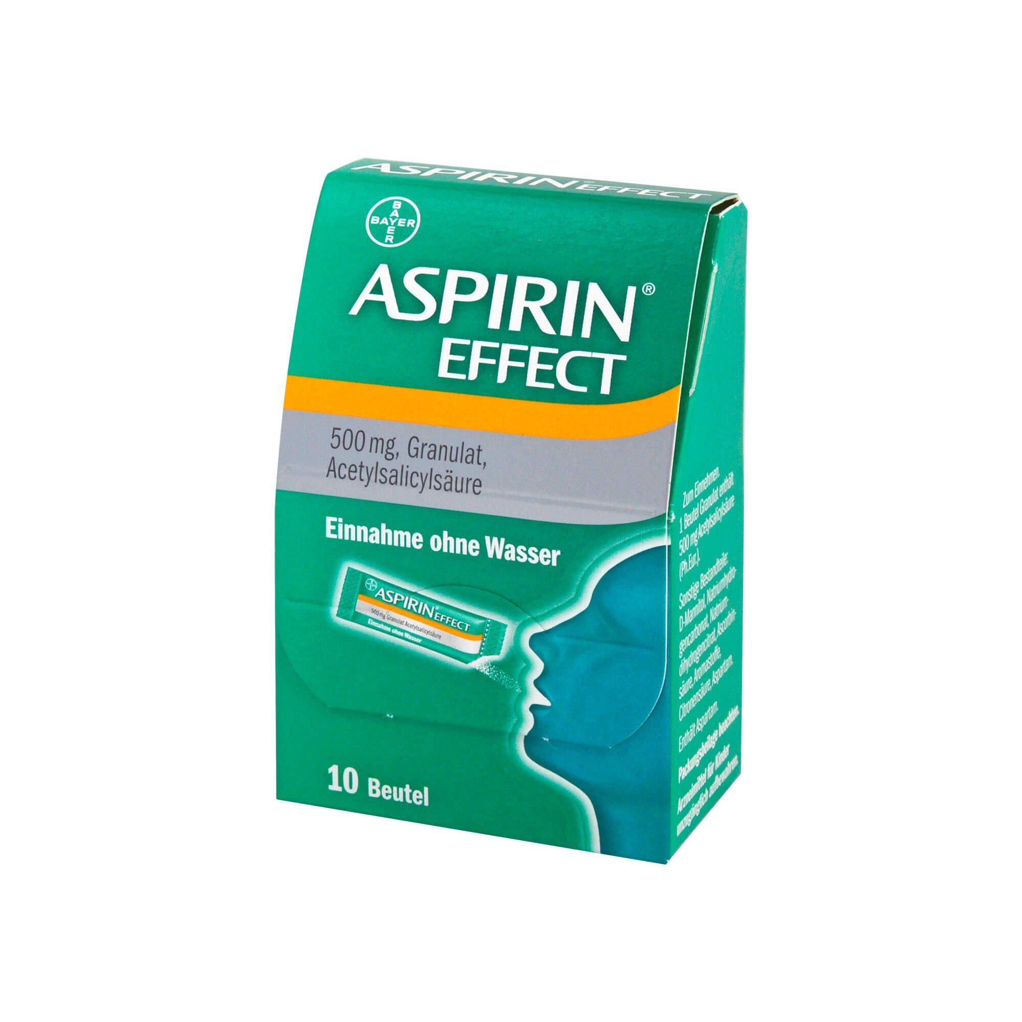 Aspirin Effect Granulat, 10 St
