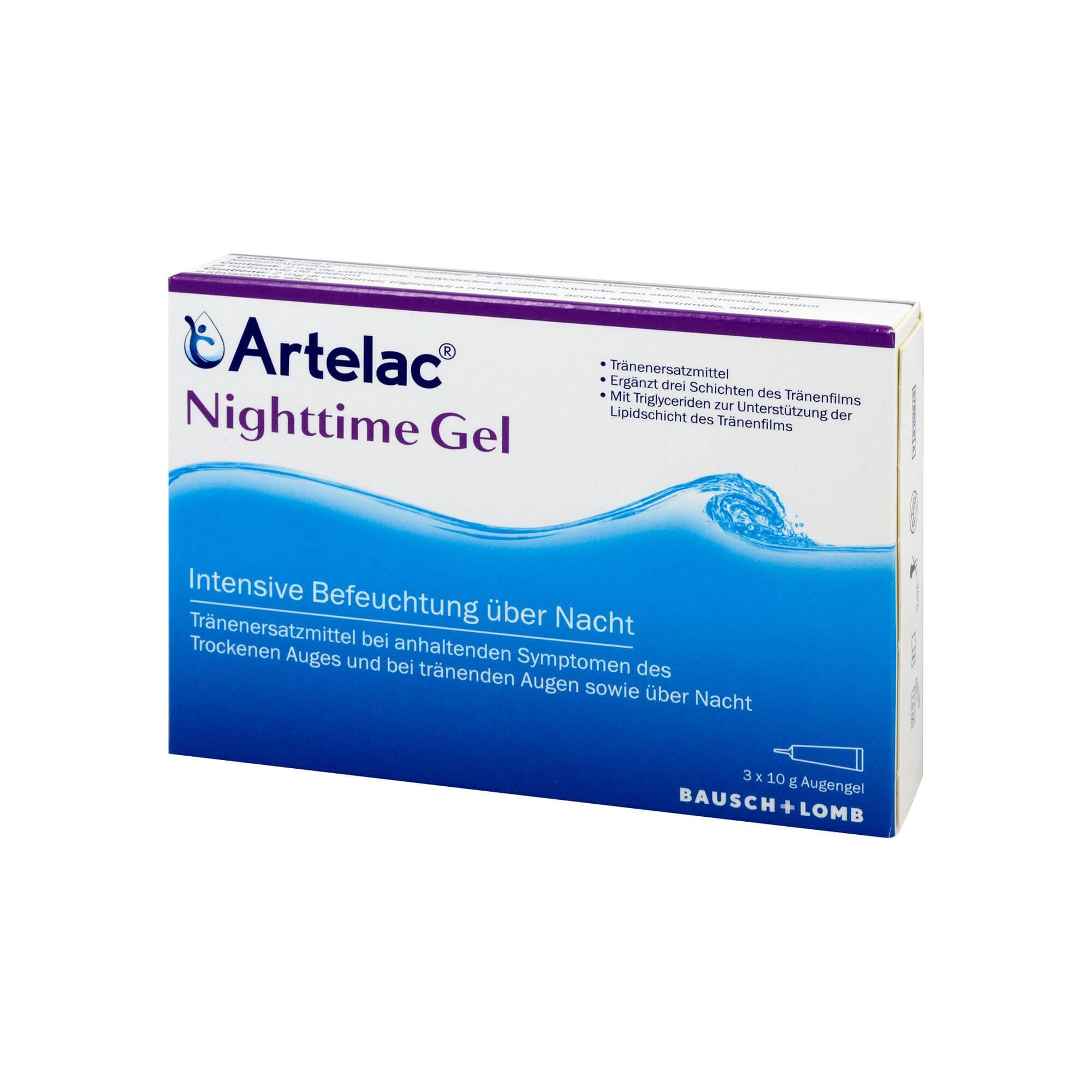 Artelac Nighttime Gel (, 3X10 g)