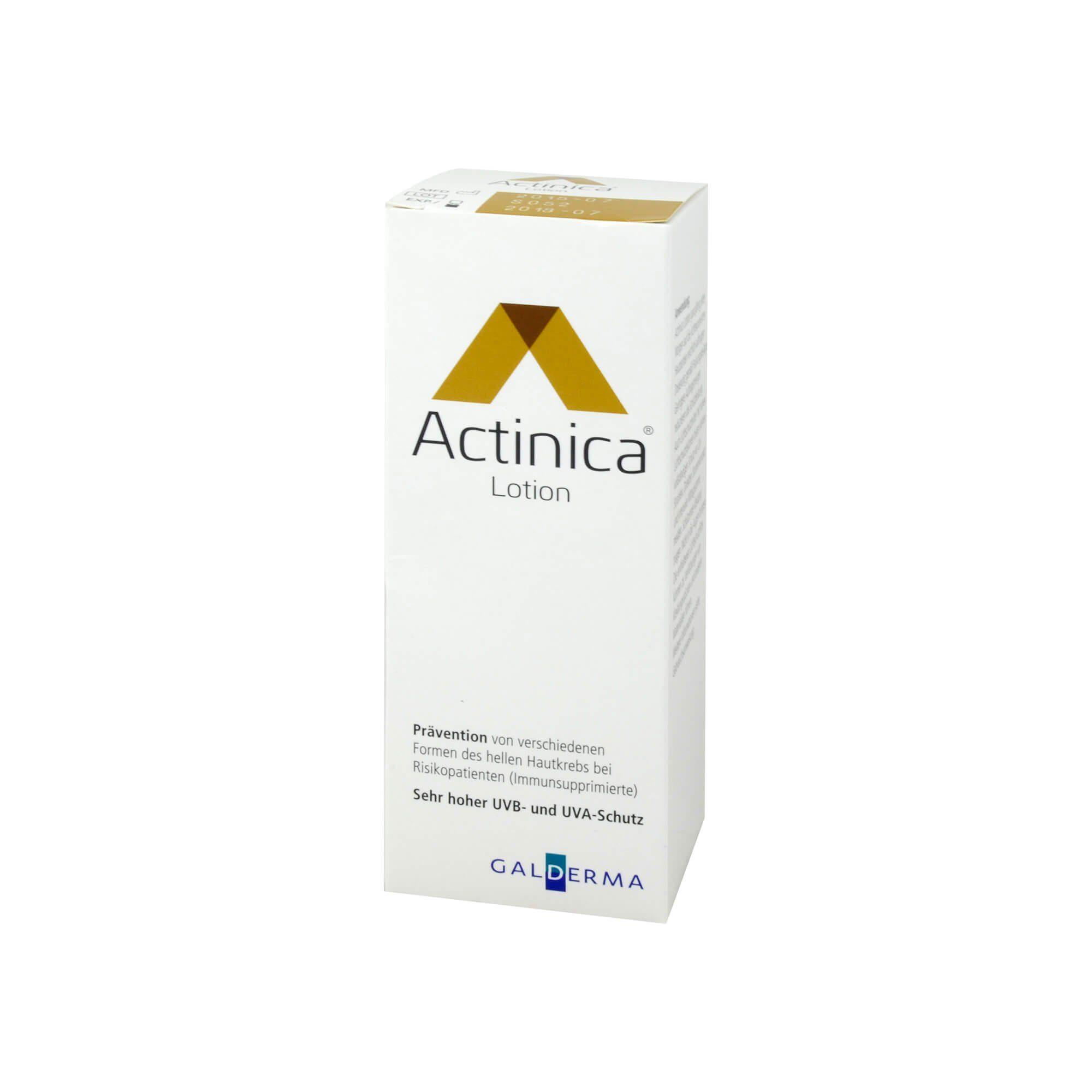 Actinica Lotion mit Breitspektrum-UV-Schutz, 100 g