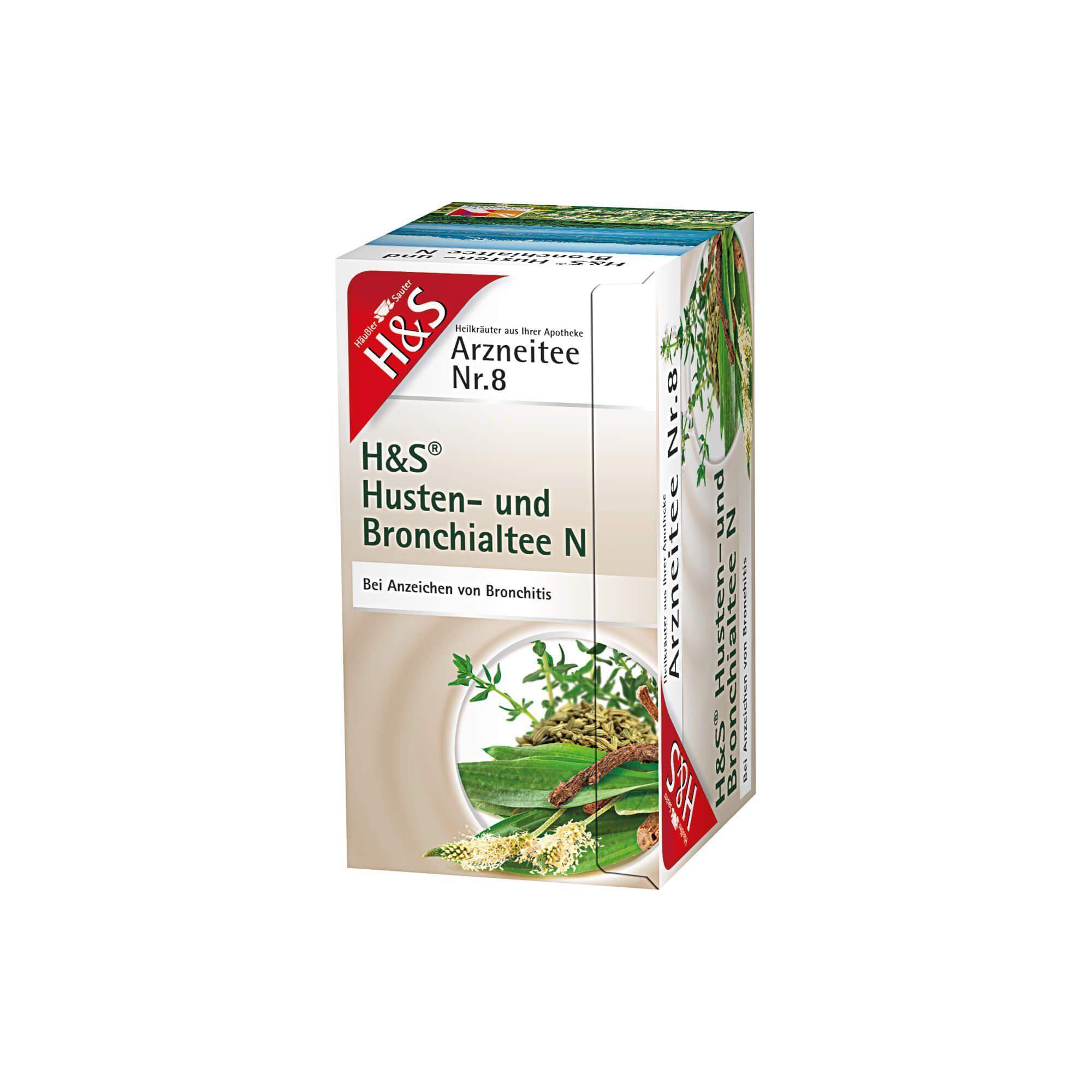 H&S Husten- und Bronchialtee N , 20 St