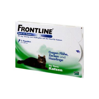 frontline spot on f r katzen 3 st online kaufen otto. Black Bedroom Furniture Sets. Home Design Ideas
