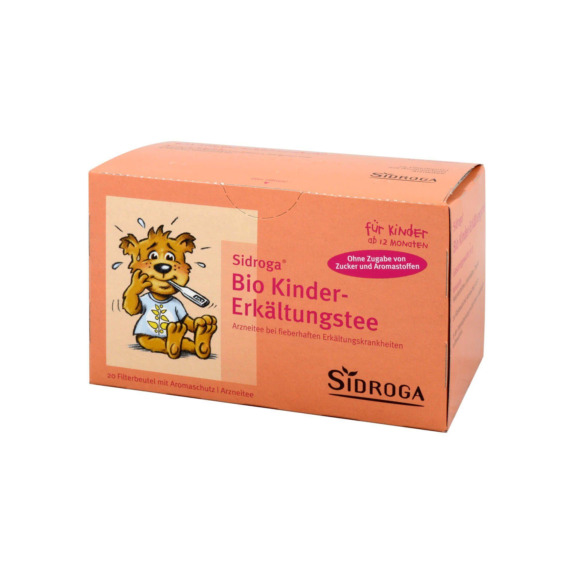 Sidroga Bio Kinder Erkältungstee , 20 St