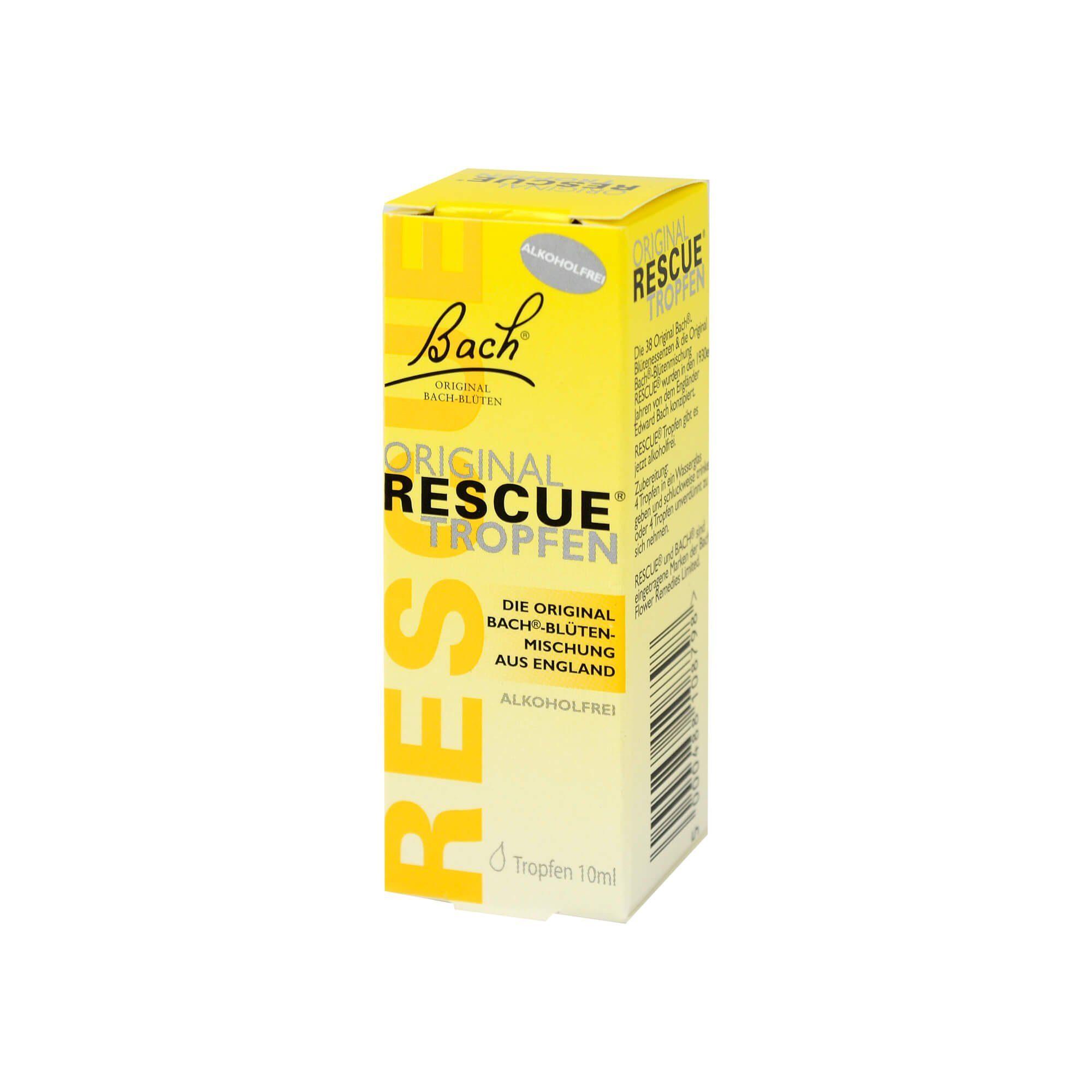 Bach Original Rescue Tropfen alkoholfrei, 10 ml