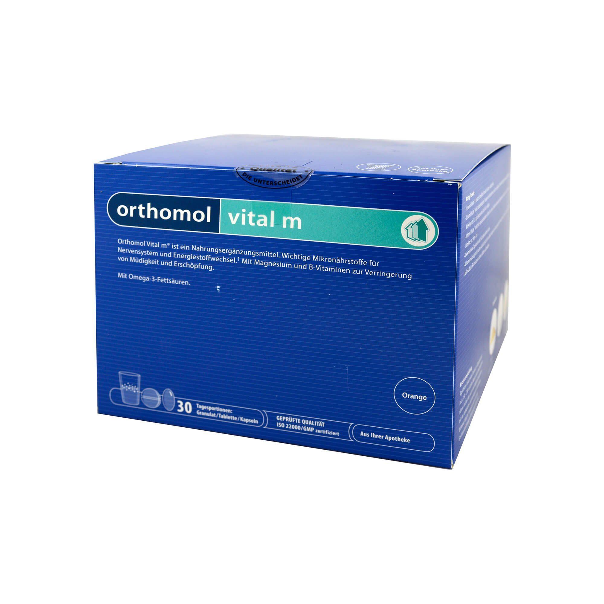 Orthomol Vital M 30 Granulat/Kapseln Kombipackung, 1 St