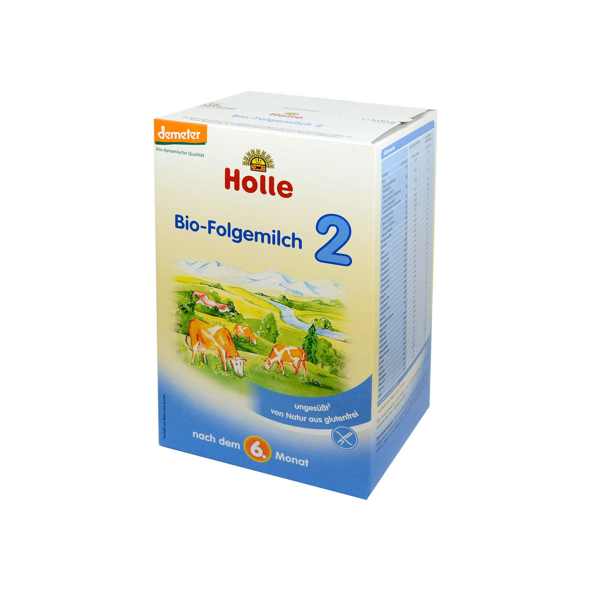 Holle Bio Säuglings Folgemilch 2, 600 g