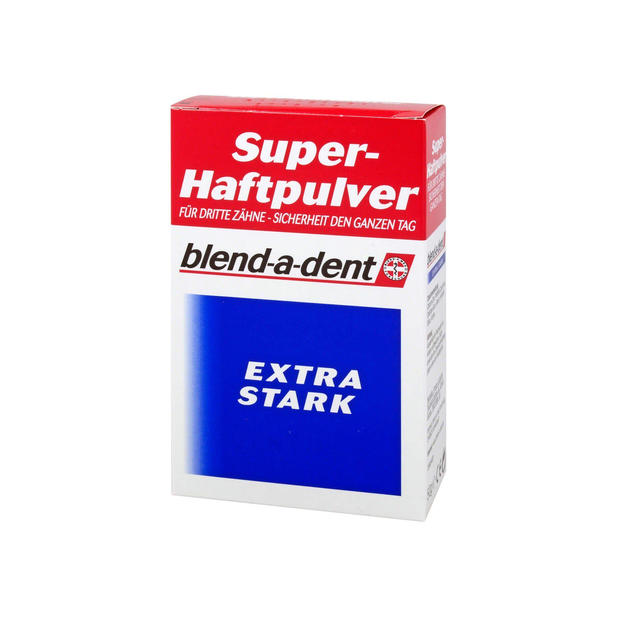 Blend-a-dent Super Haftpulver extra stark 168605, 50 g