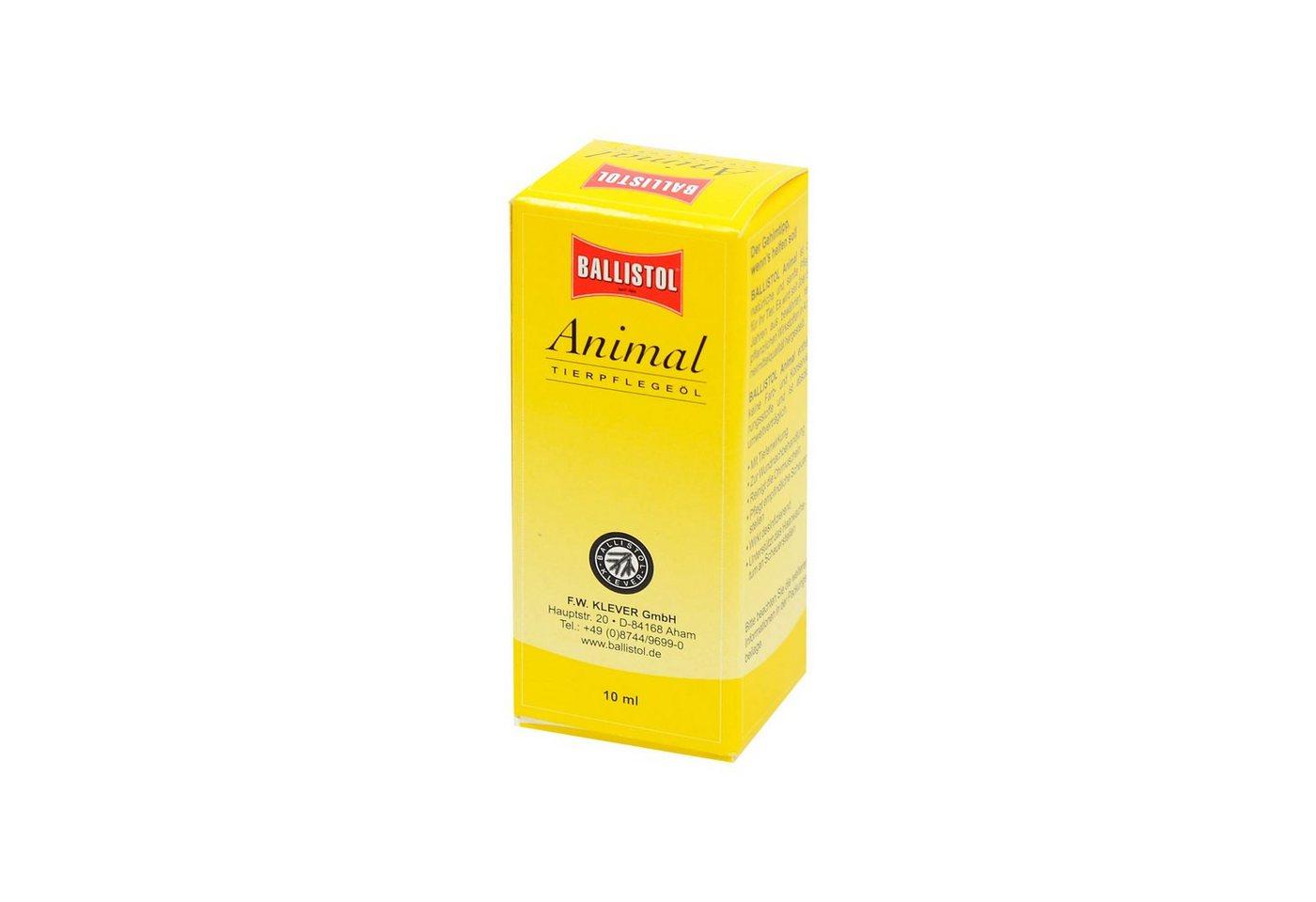Ballistol Animal Tierpflegeöl , 10 ml - Preisvergleich