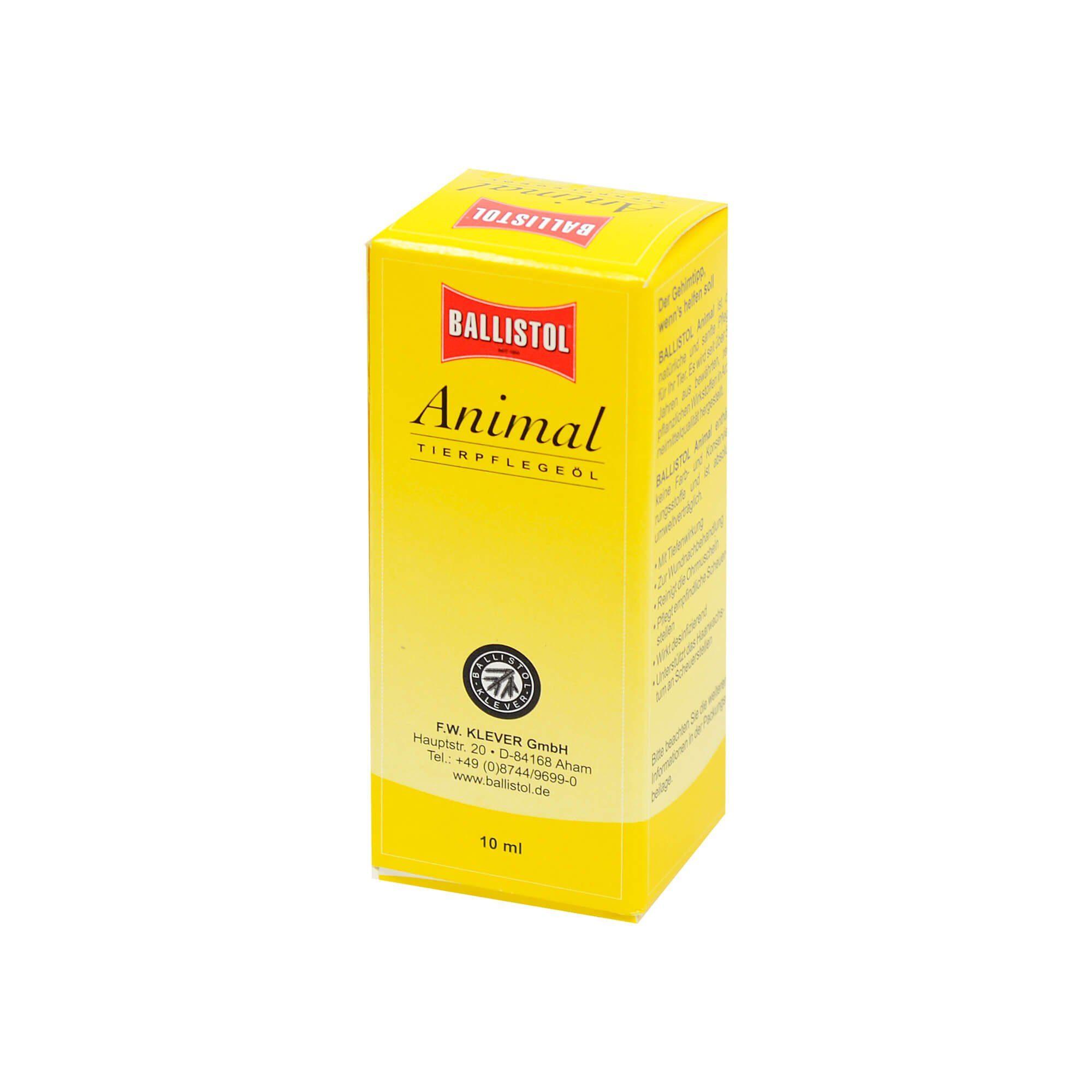 Ballistol Animal Tierpflegeöl, 10 ml
