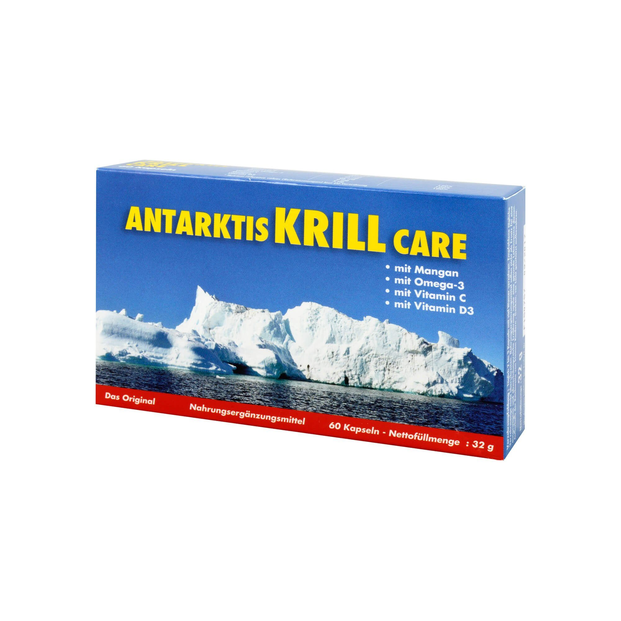 Antarktis Krill Care Kapseln , 60 St
