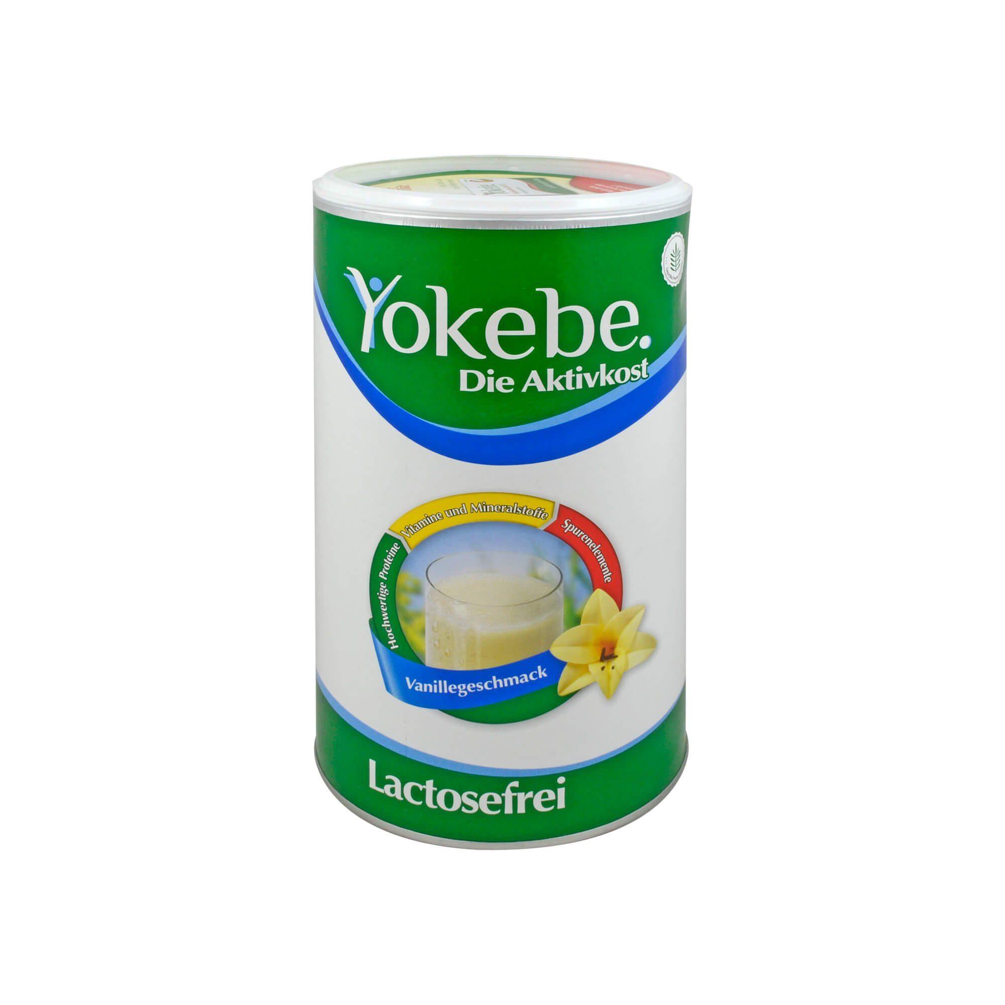 Yokebe Lactosefrei Vanille, 500 g