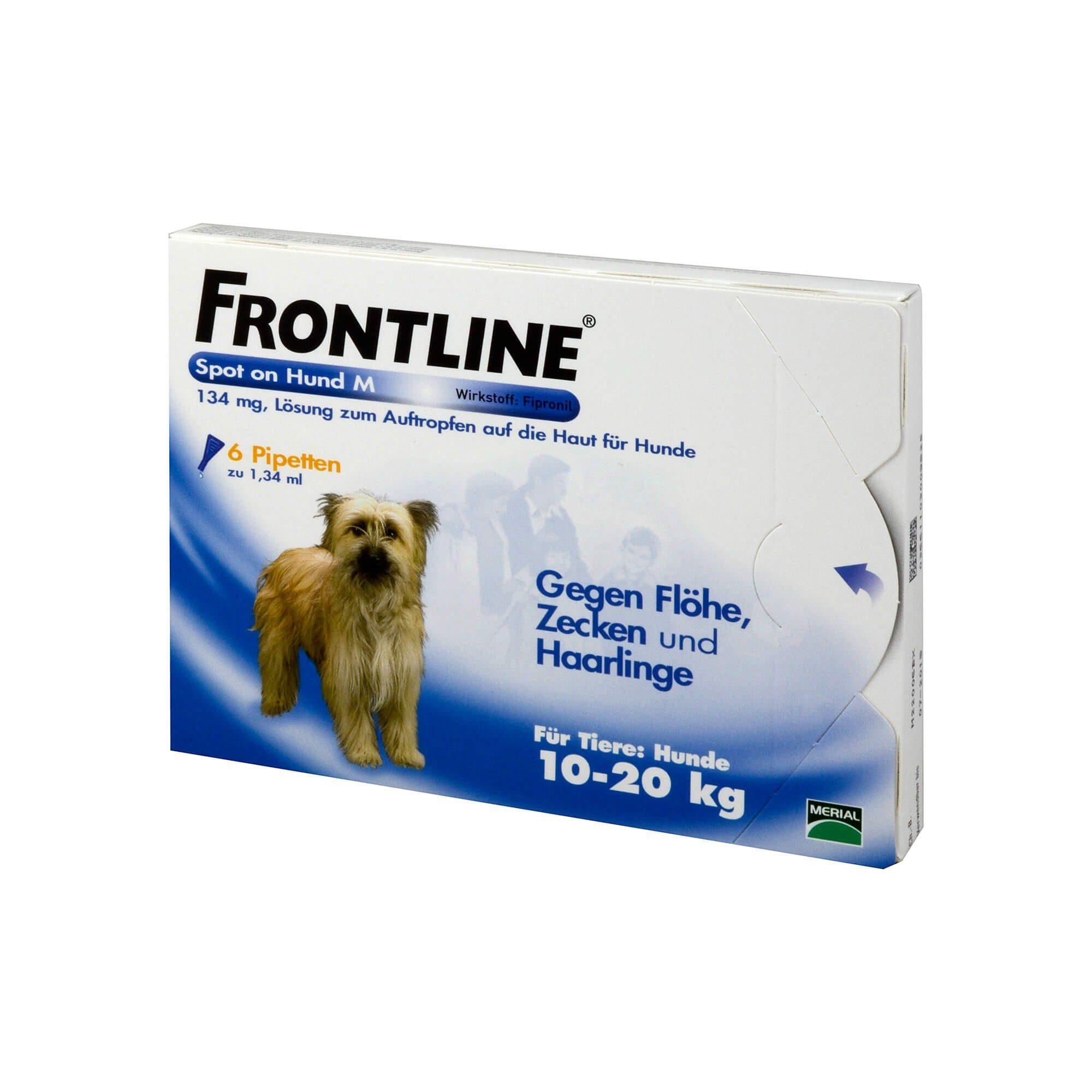 Frontline Frontline Spot on Hund M 134 mg , 6 St