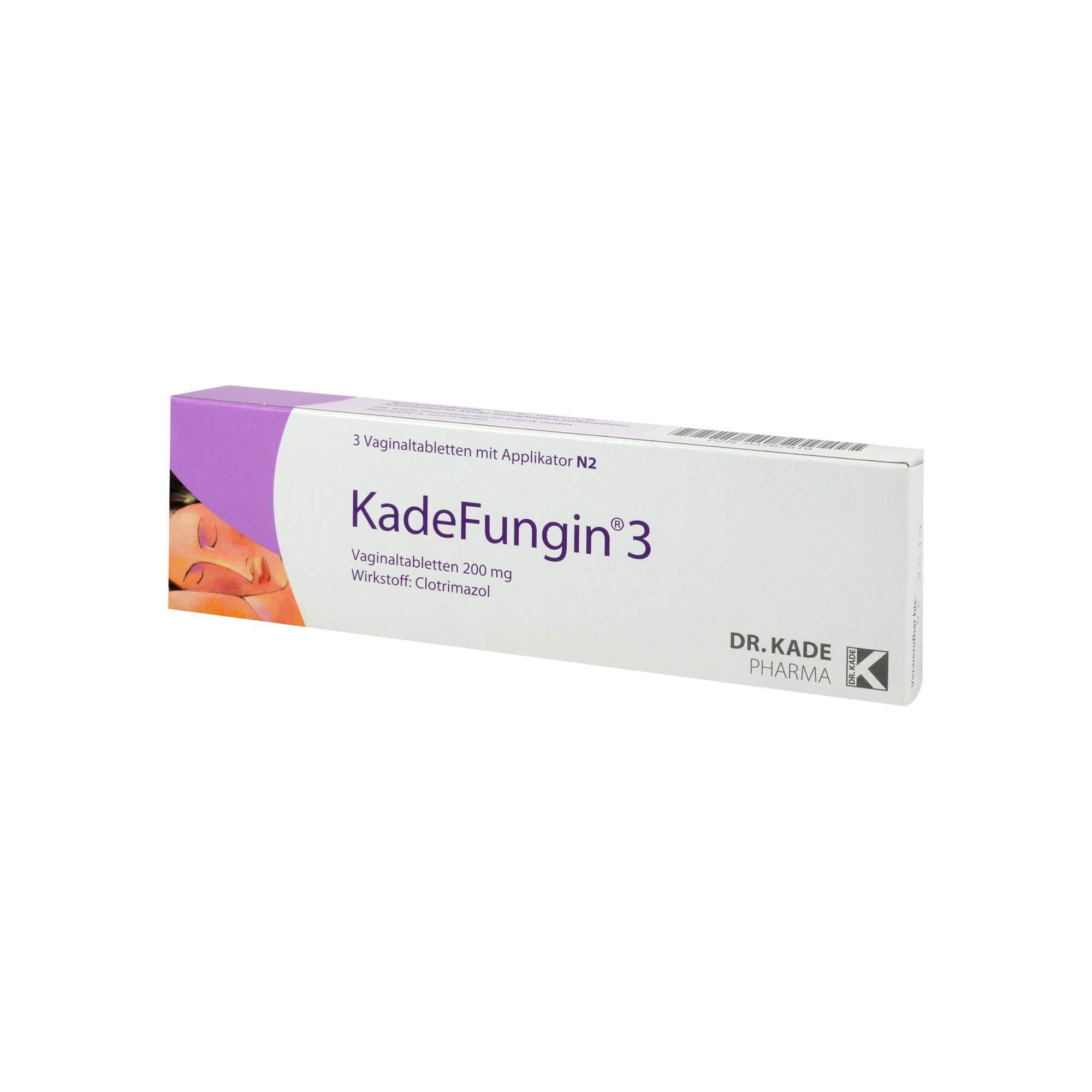 Kadefungin 3 Vaginaltabletten, 3 St