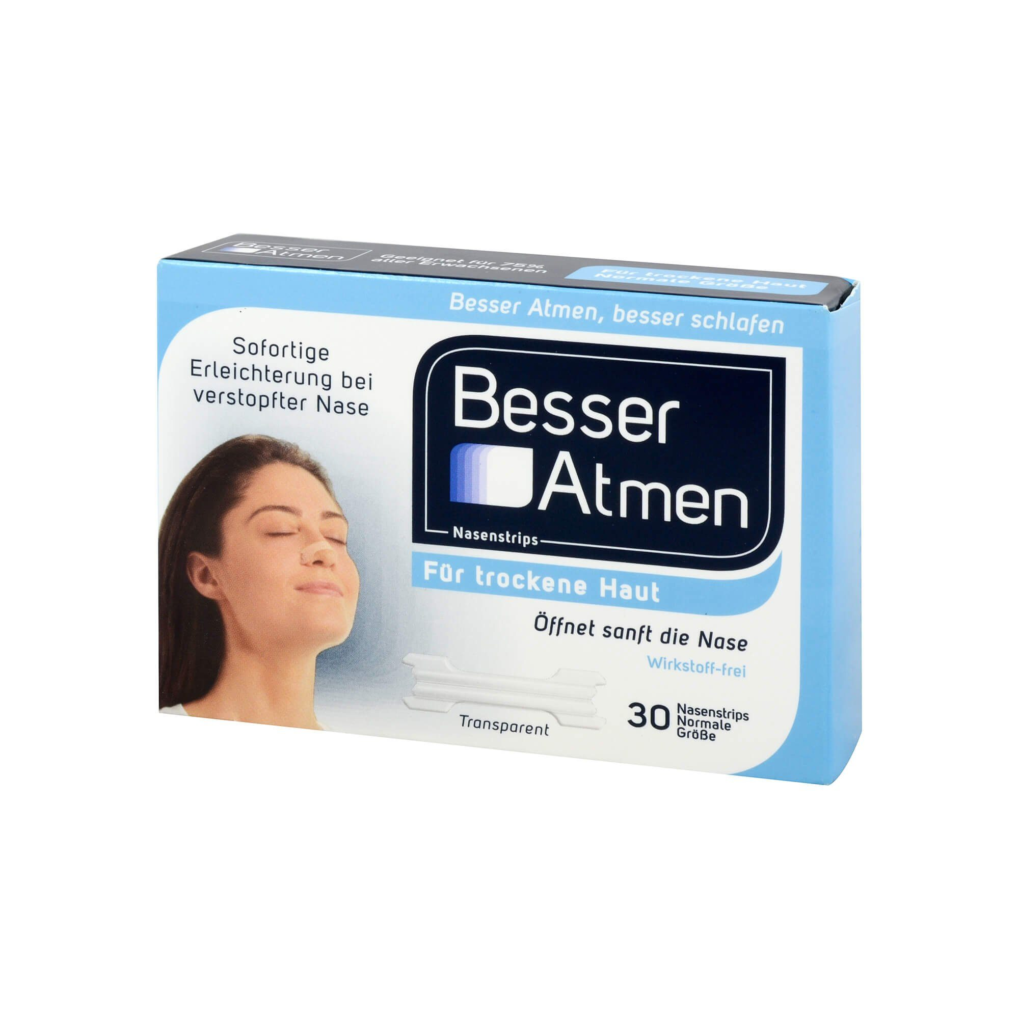 Besser Atmen Nasenstrips , 30 St